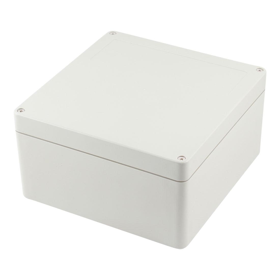 Rectangle Plastic Sealed Power Junction Enclose Box Case 190mm x 185mm x 100mm