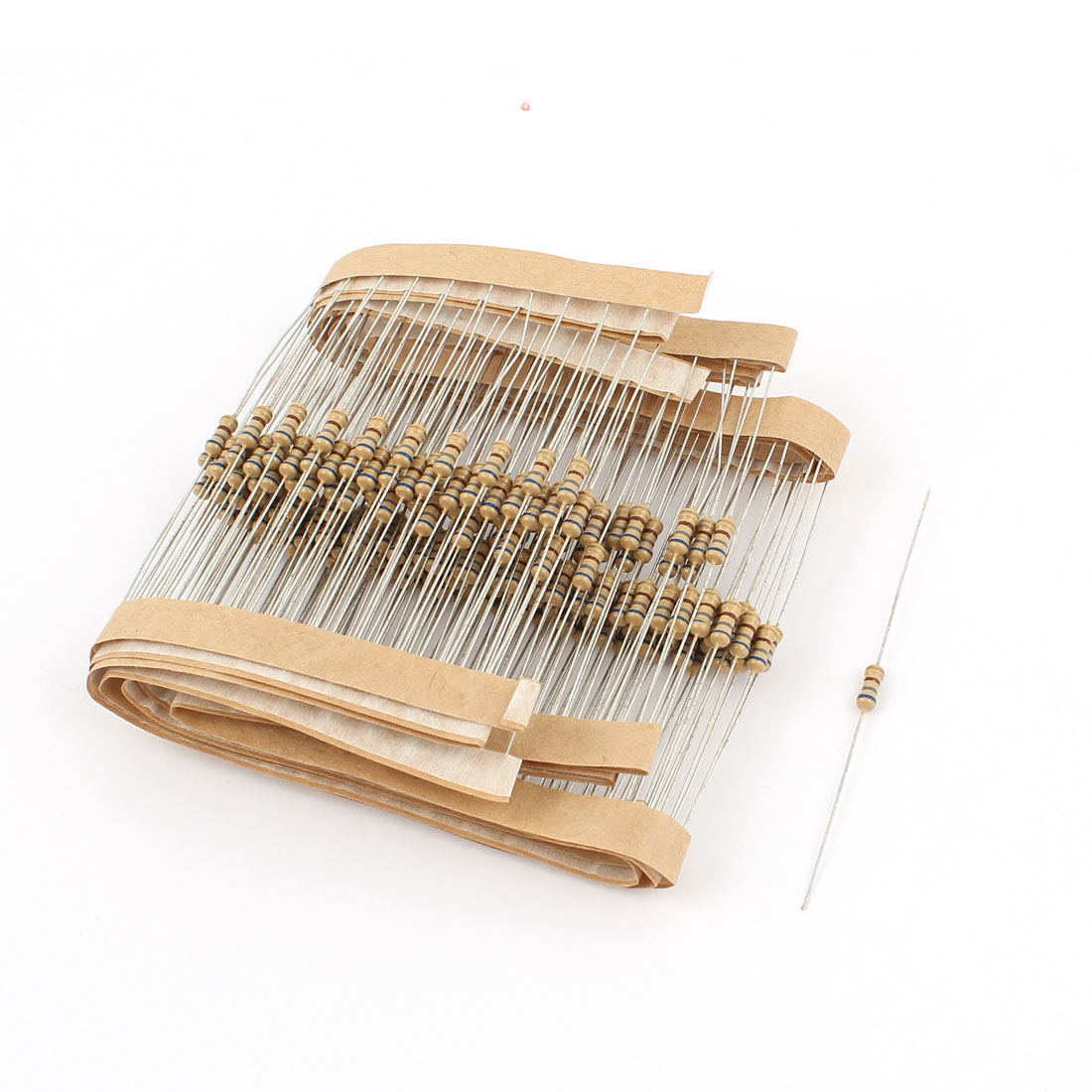 200pcs 1/4 Watt 670 Ohm Resistance Electrical Carbon Film Resistor