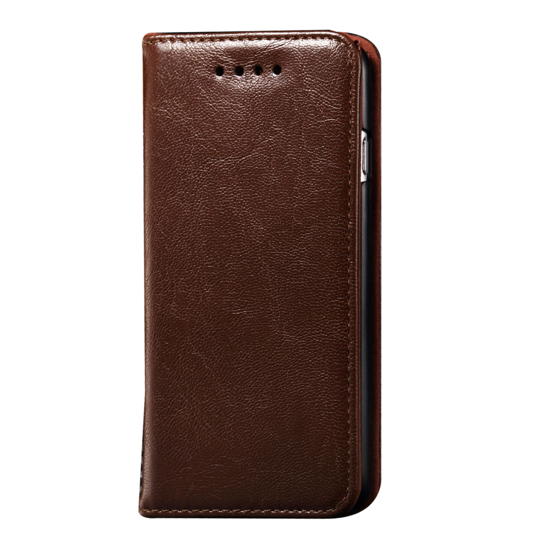 Brown PU Leather Card Wallet Phone Flip Stand Case Cover for iPhone 6 6th 4.7-inch