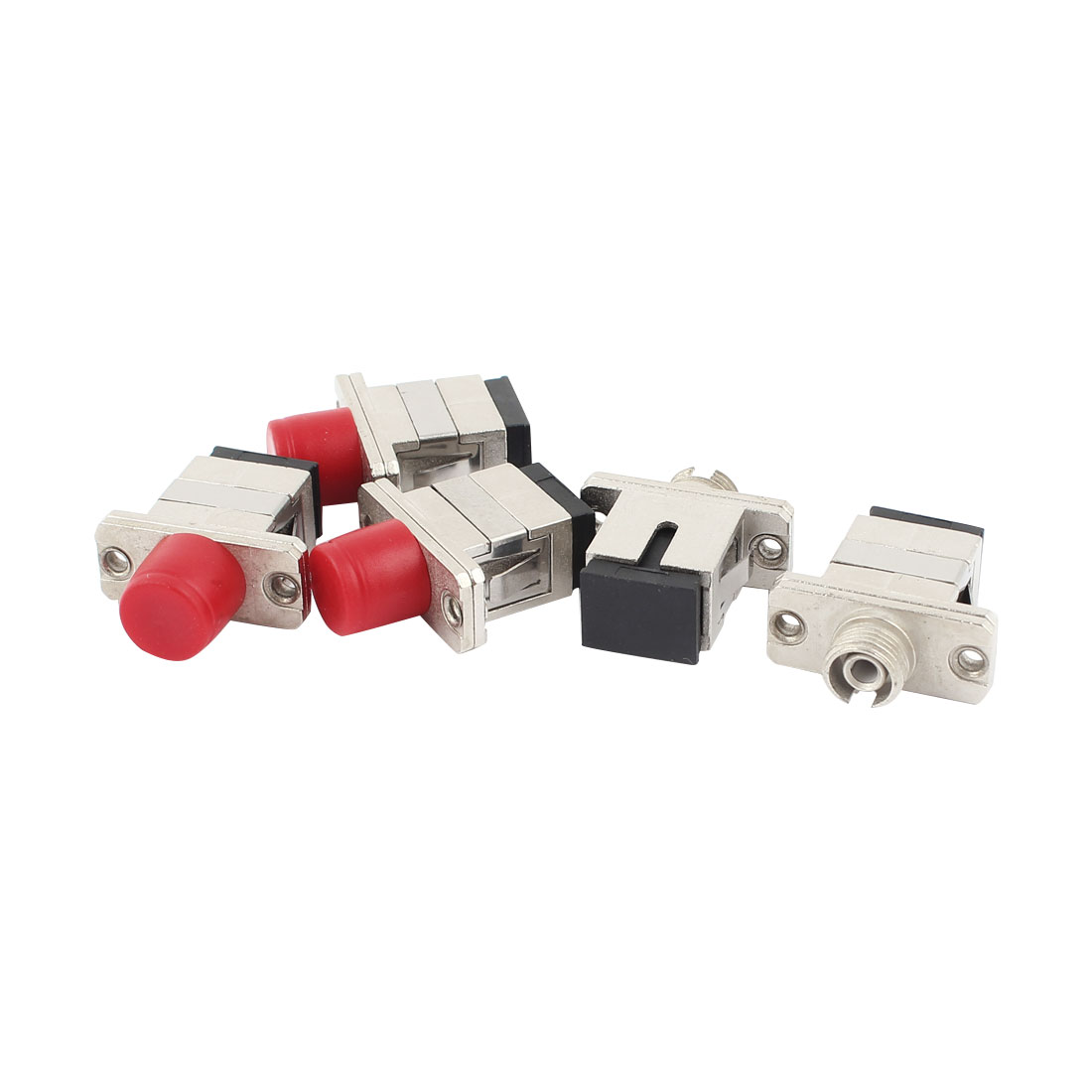 CATV SC to FC Optical Fiber Cable Coupler Adapter 5 Pcs