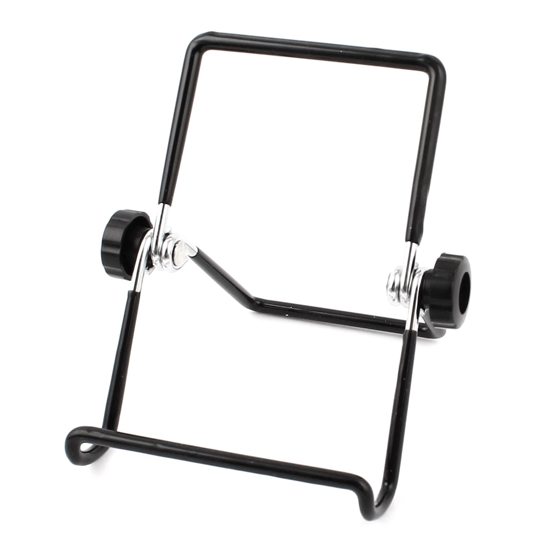 Portable Adjustable Multi-angle Holder Desktop Stand Bracket Black for Tablet PC