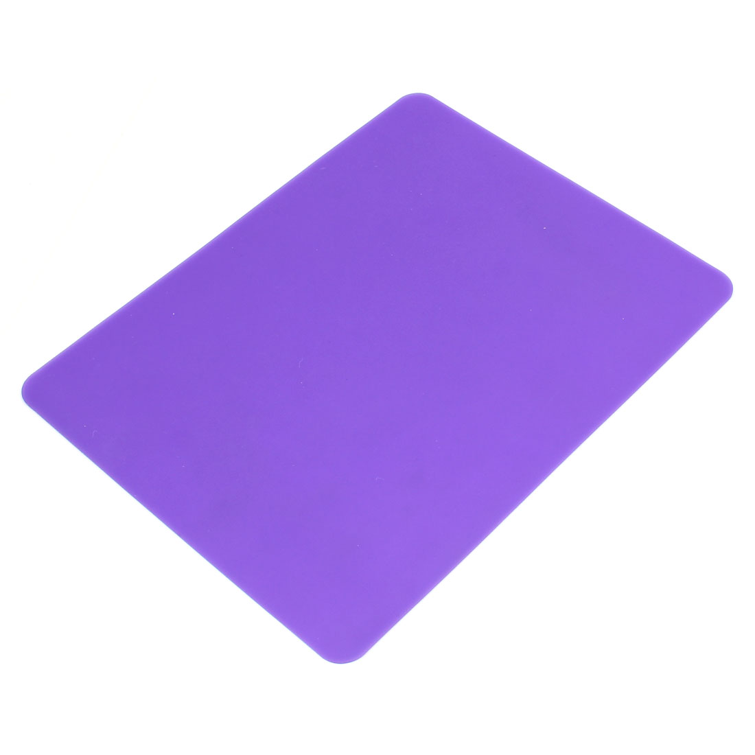 21.5 x 16.8cm Purple Anti-skid Silicone Desktop Computer Mouse Pad Mat