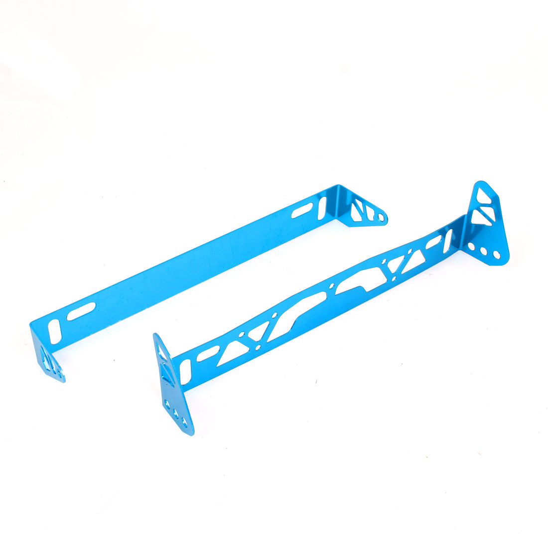 Vehicle Car Blue Metal Plate Bracket Support for 93x370mm License