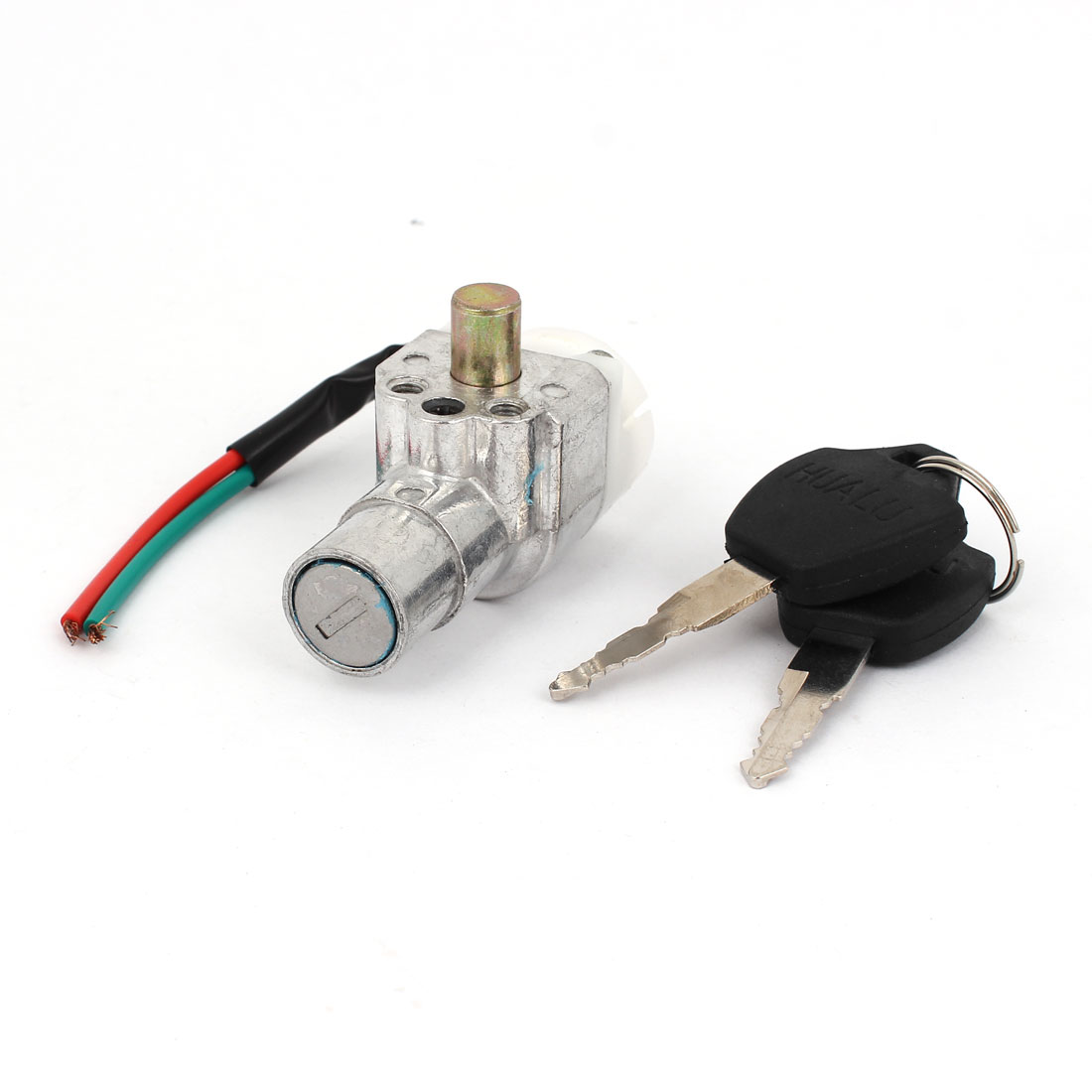 DC 48V 2 Wires Ignition Switch Keys Lock for Bike Scooters
