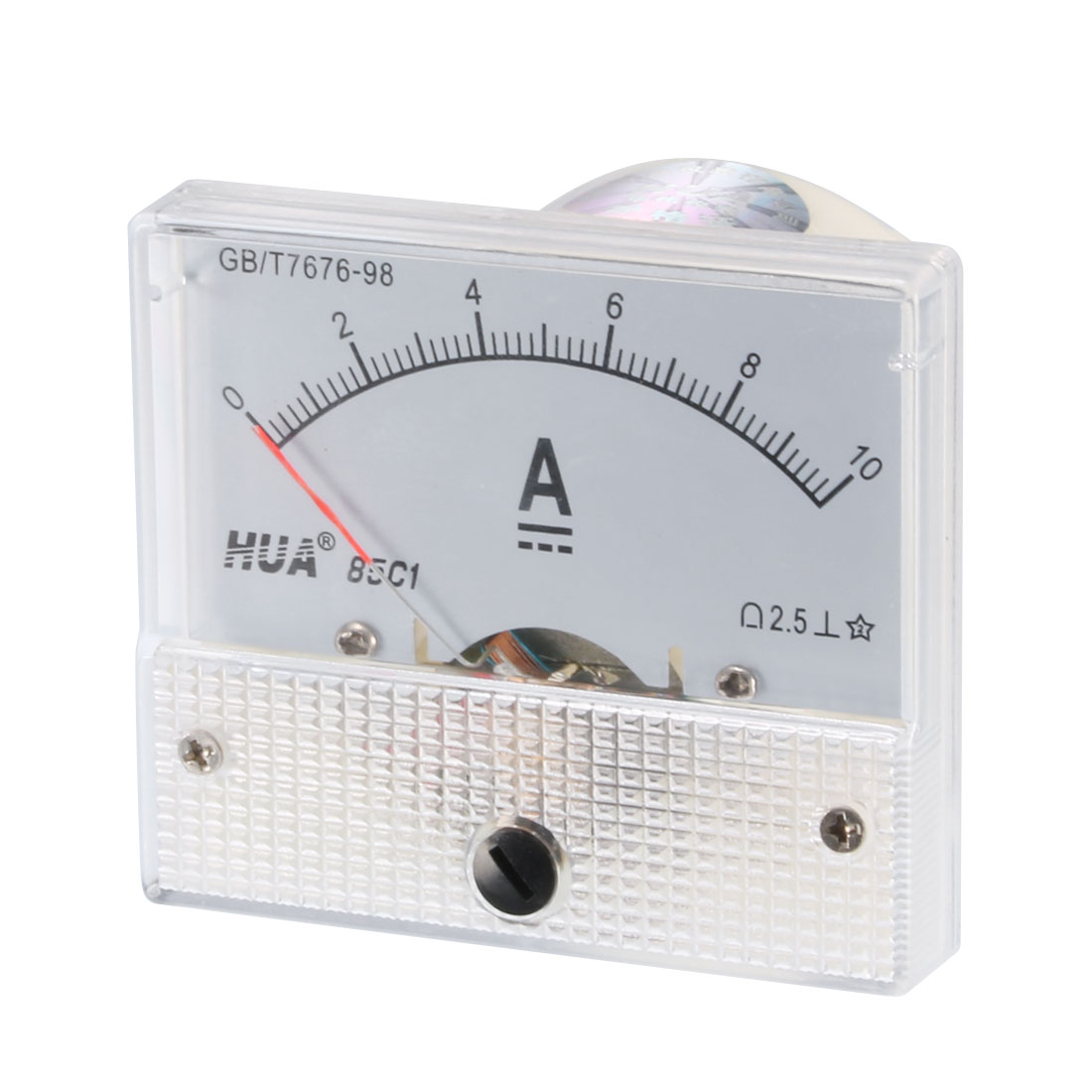 85C1 DC 0-10A Class 2.5 Accuracy Vertical Mounted Analog Ammeter Ampere Meter