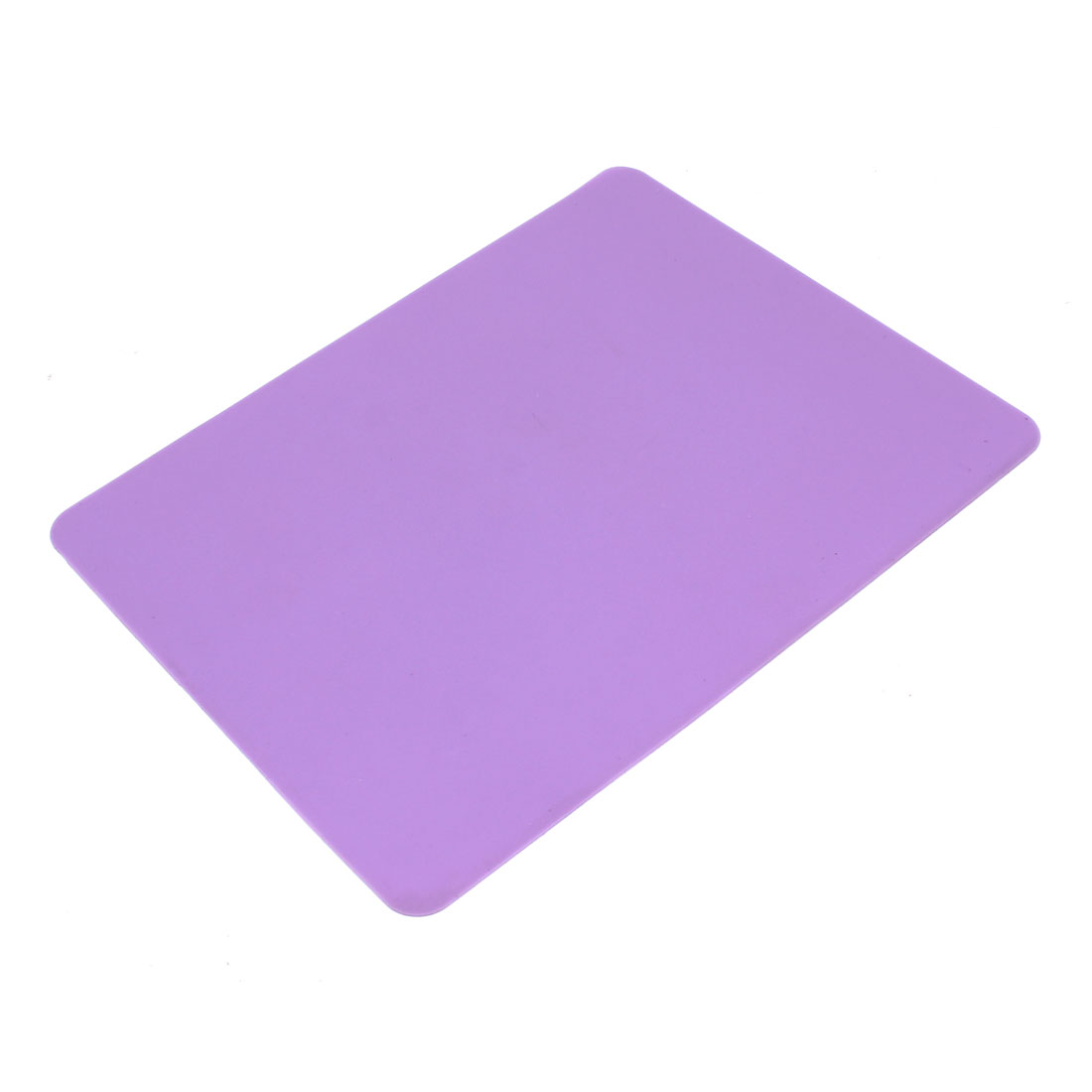 Purple Non-slip Soft Silicone Mice Pad Mat Mousepad for Laptop Computer