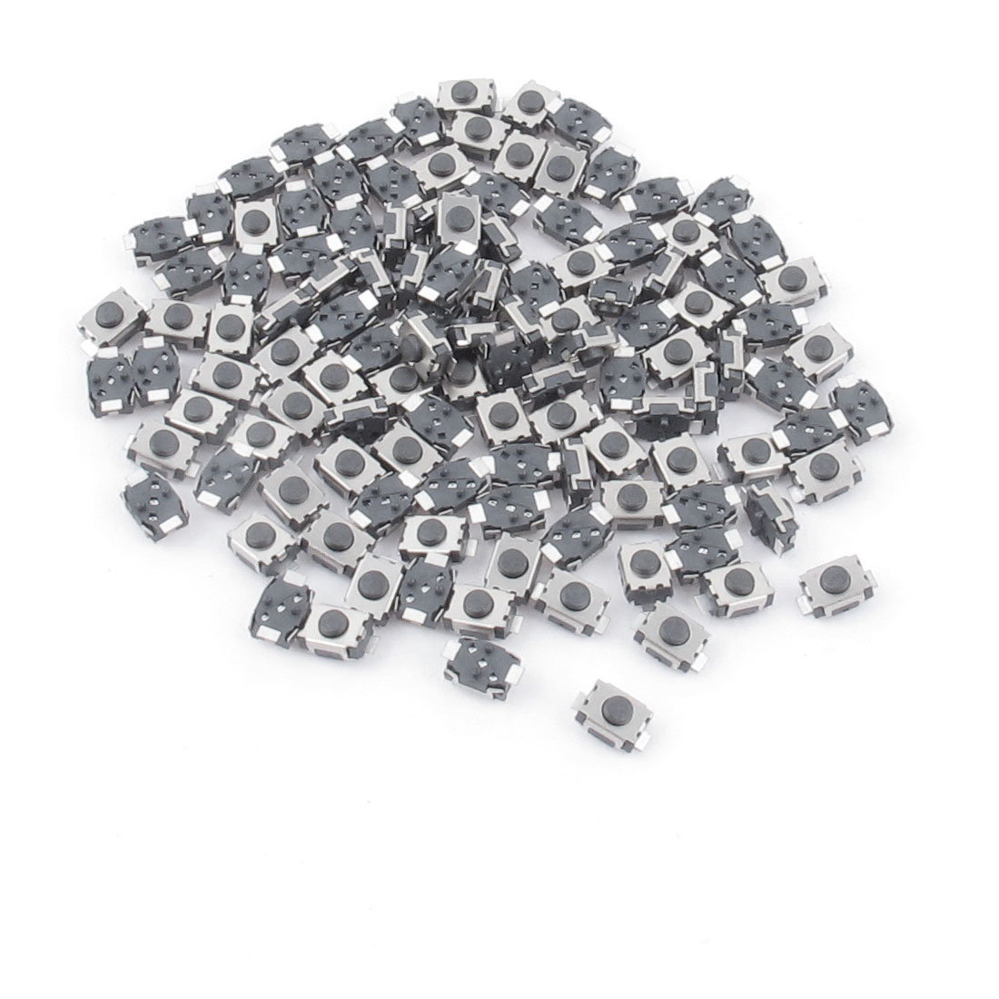 100Pcs 4x3x2mm Momentary 2 Pin Pushbutton Tactile Tact Switches
