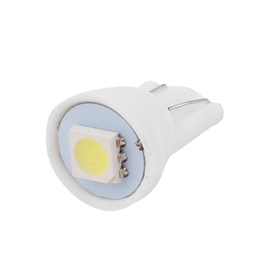 T10 5050 1-SMD White LED Wedge Map Dome Roof Light Bulb Lamp 12V Internal