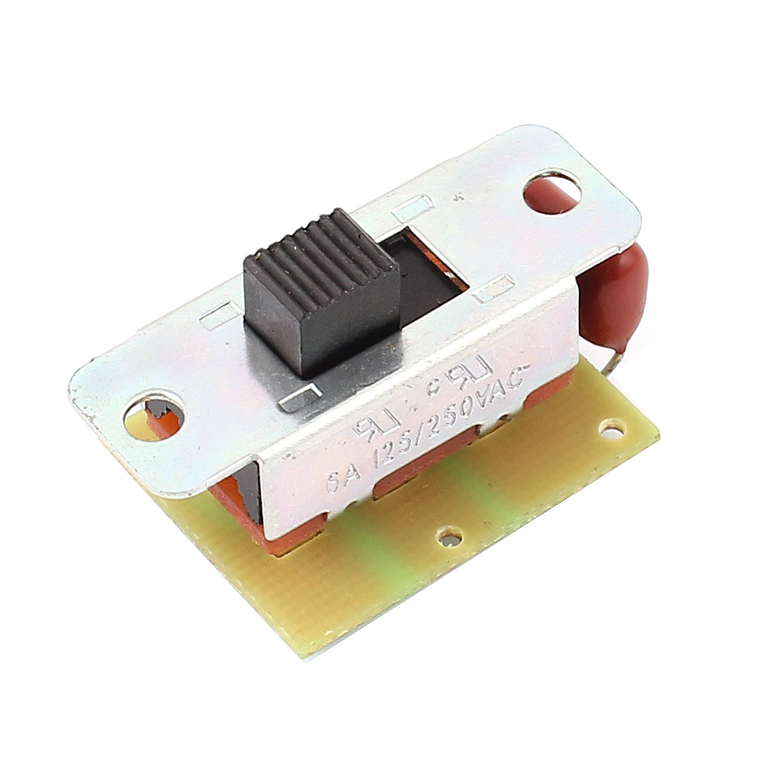 AC 250V 125V 6A DPDT Miniature Power Slide Switch for Electric Screwdriver CW/CCW Rotary