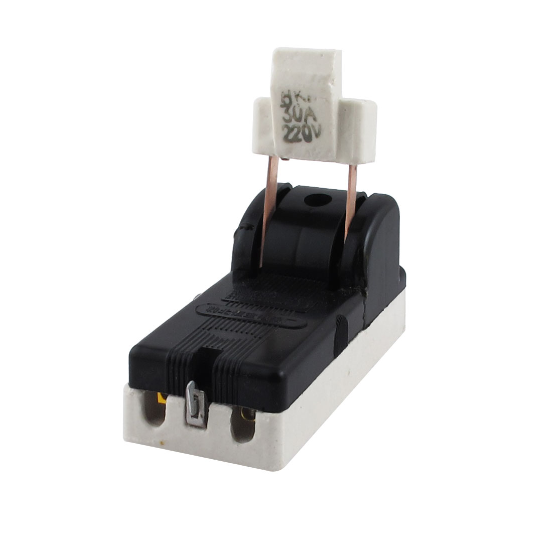 AC 220V 30A Two Phase 2P Circuit Control Disconnect Switch Black