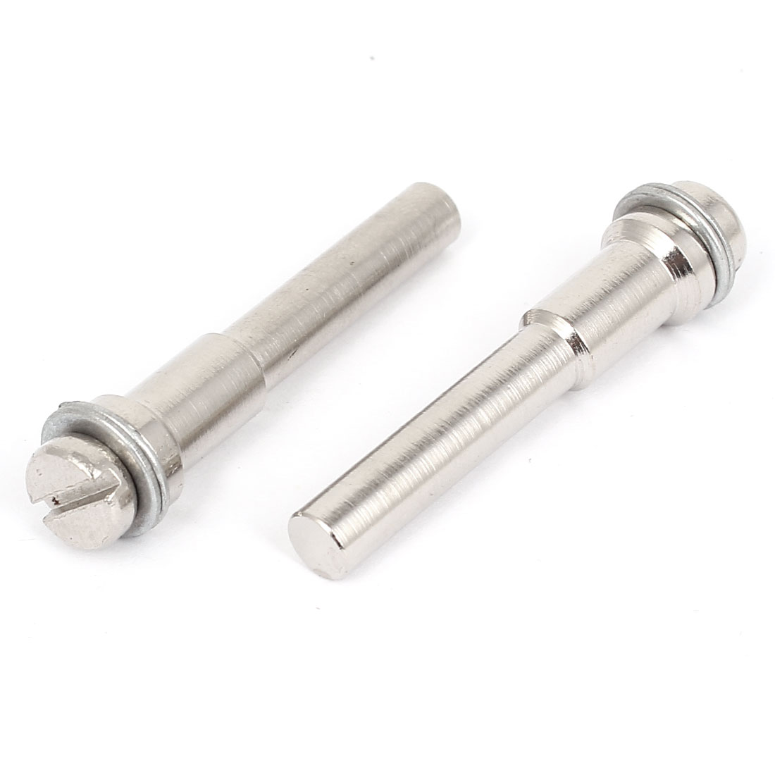 2 Pcs 6.3mm Shank Dia Mandrel for Diamond Rotary Grinding Wheel Disc