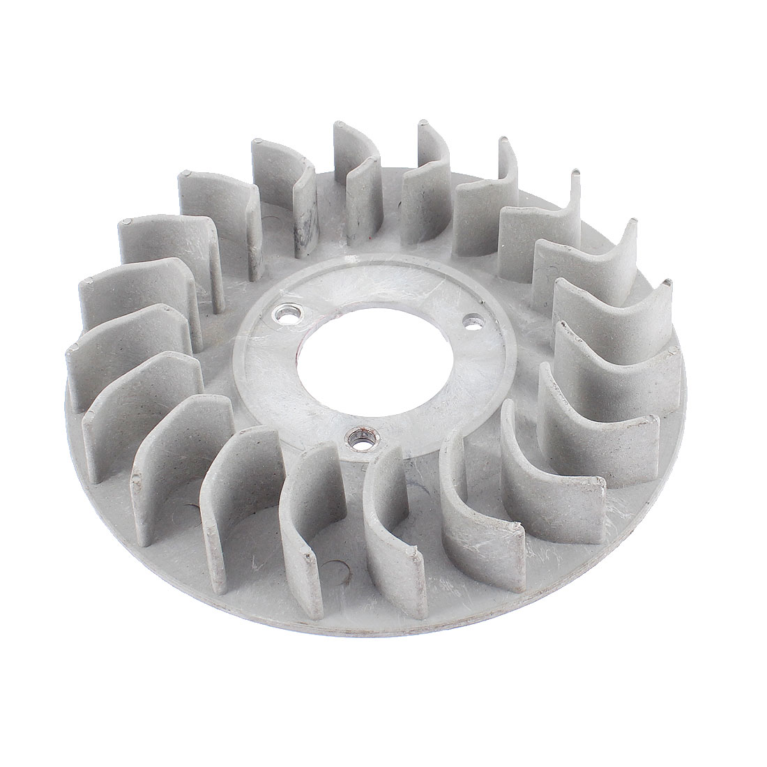 Gray Plastic 20 Teeth Gasoline Generator Motor Fan