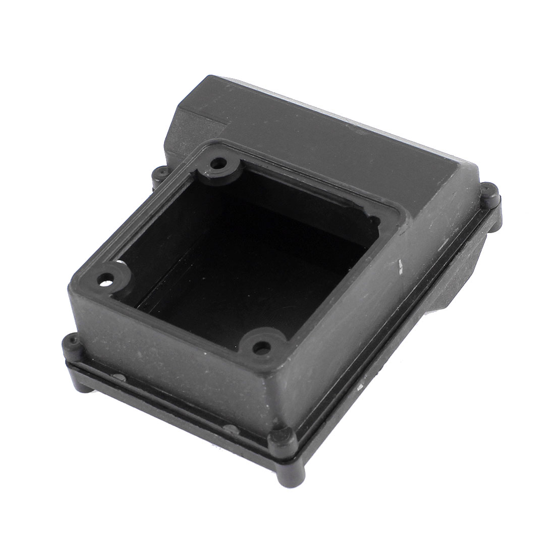 Black Plastic Electric Circuit Connect Junction Box 115mm x 100mm