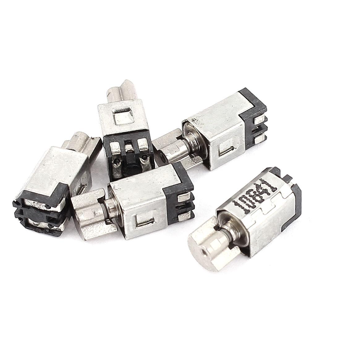 5pcs DC 1.5-3V 1500RPM Mini Micro Toy Vibration Motor 4.5x5x11mm