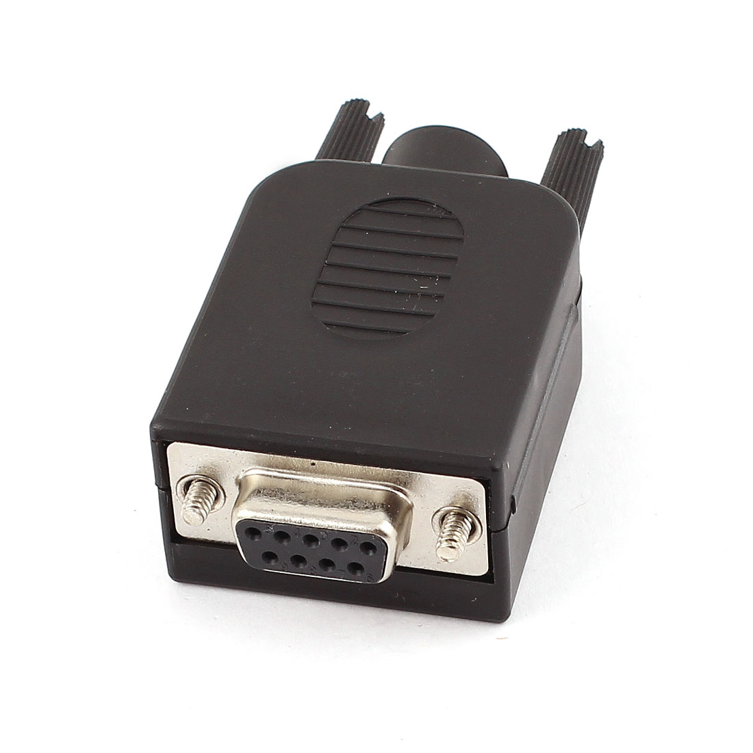 DB9-M9 Stable DB9 Connector 9Pin Female Adapter Terminal Converter w Case