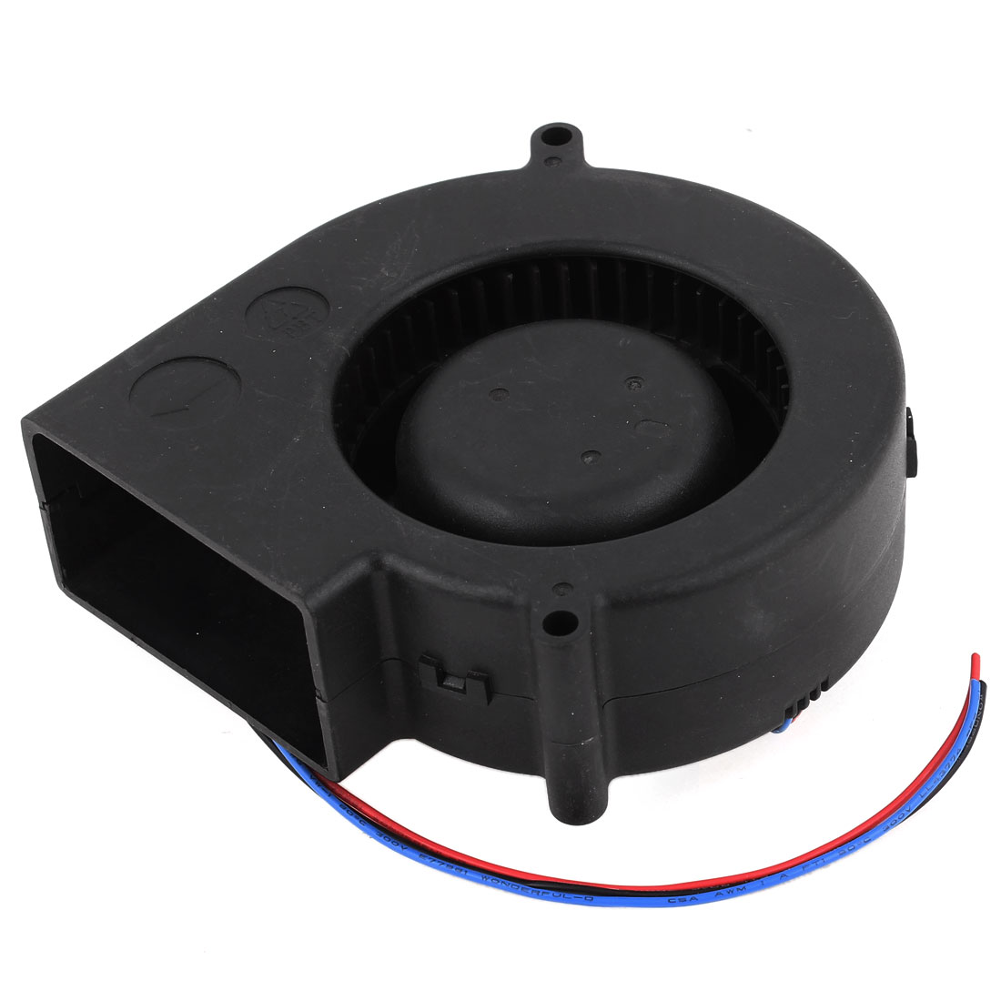 120mmx120mm Black Brushless DC Cooling Blower Fan 12V