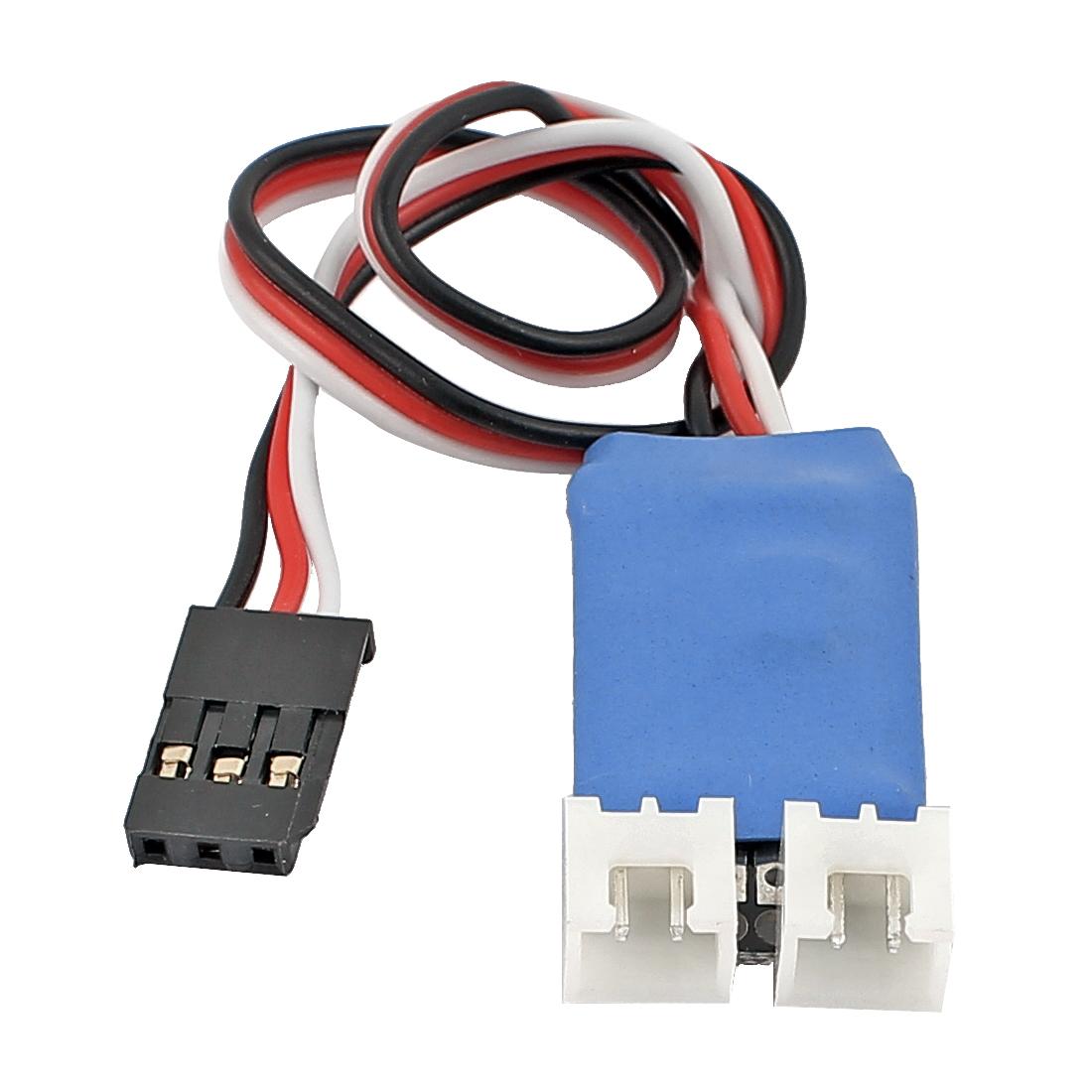 Mini Key Controller Circuit Board PCB Blue for Remote Control Car Lamp