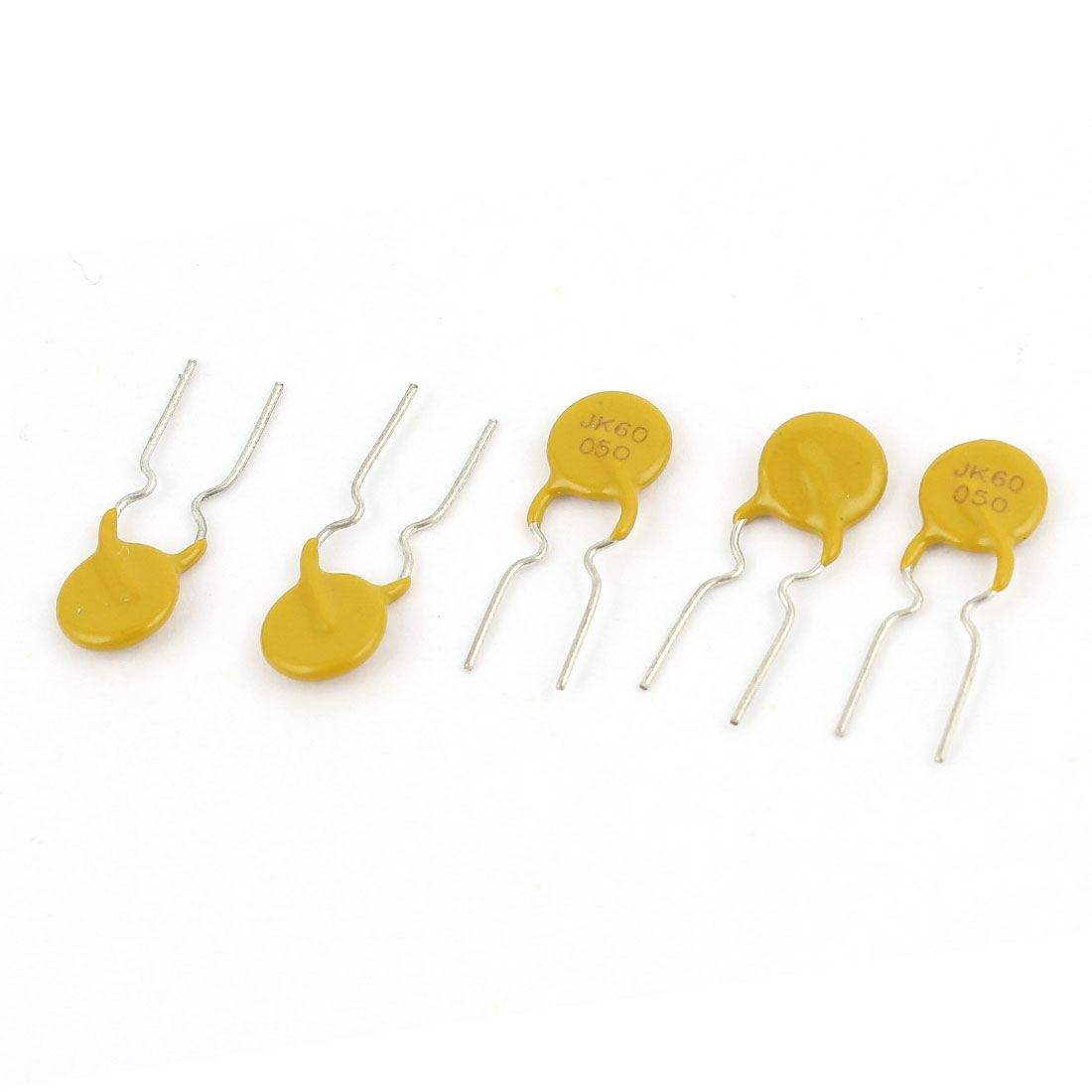 5 Pcs Polymer PPTC PTC DIP Resettable Fuse 60V 0.5A 500mA JK60-050