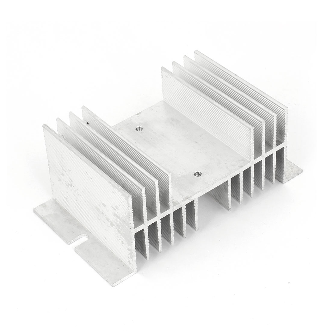 126mm x 70mm x 50mm Aluminum Heat Diffuse Solid State Relay Heatsink Cooler