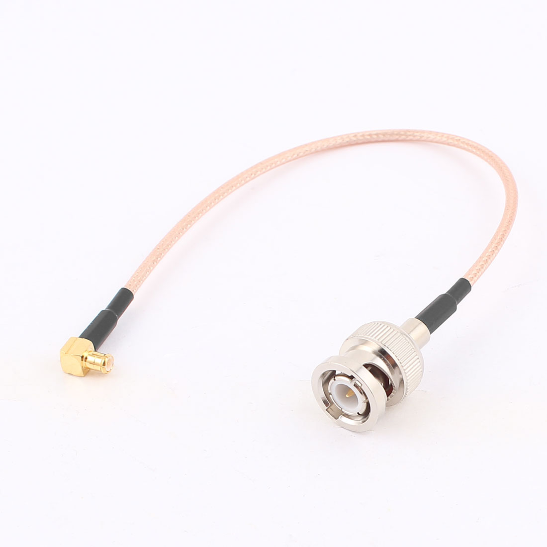 BNC Male to MCX Male Right Angle Adapter Connector RG316 Coaxial Cable 20cm