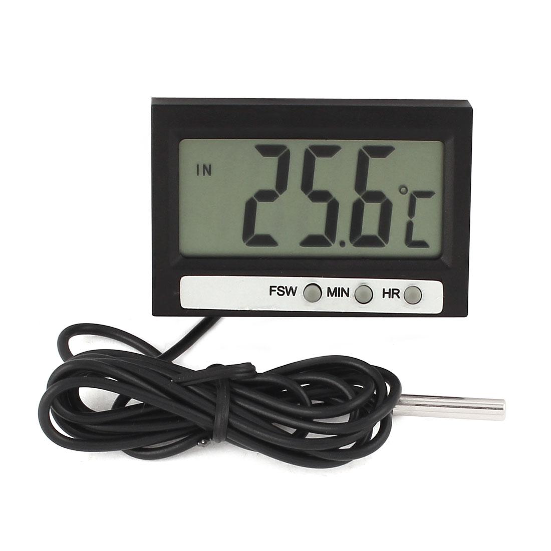 Mini Digital LCD Temperature Meter Thermometer Indoor