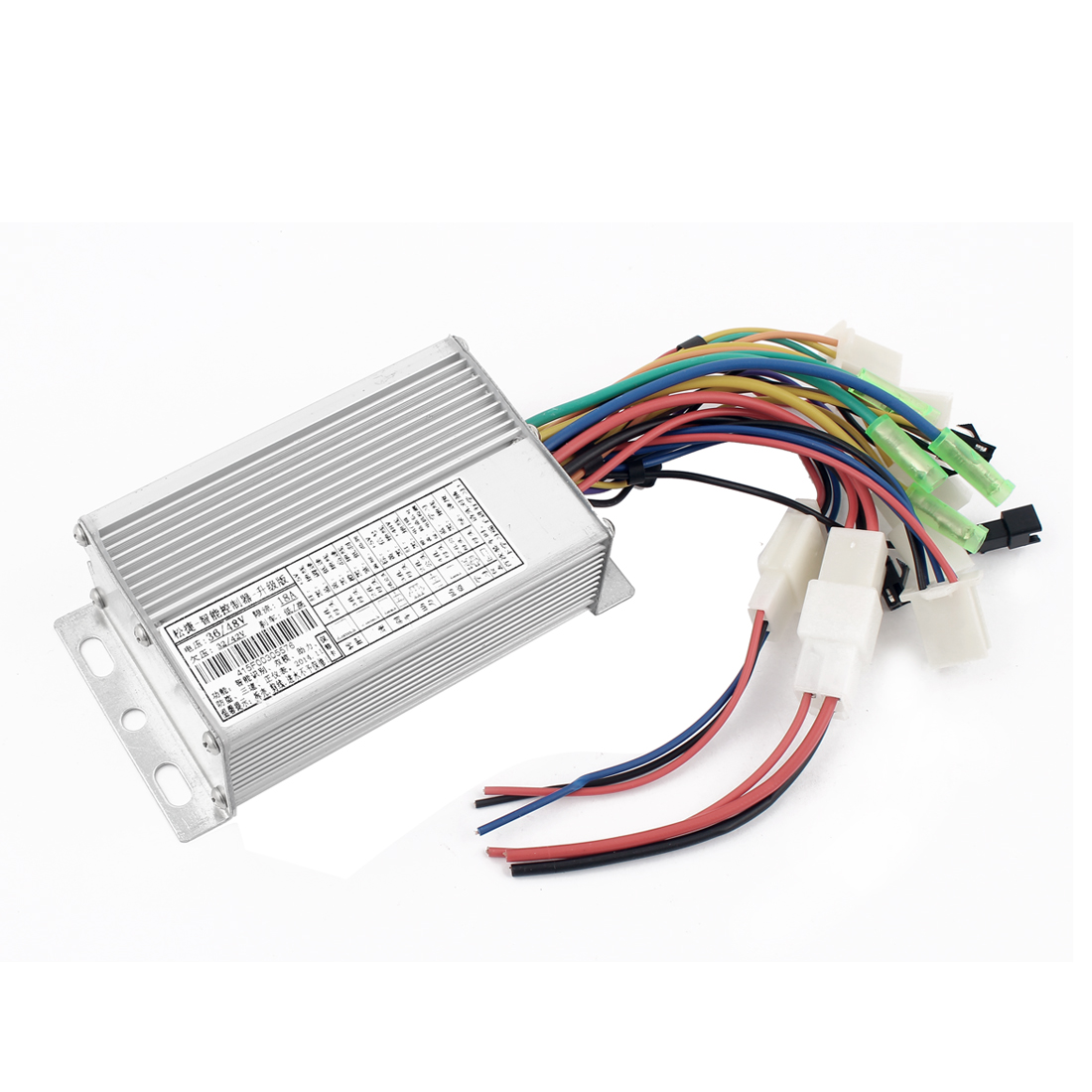 DC 36/48V 250W Electromobile Low Level Brake Brushless Motor Speed Controller