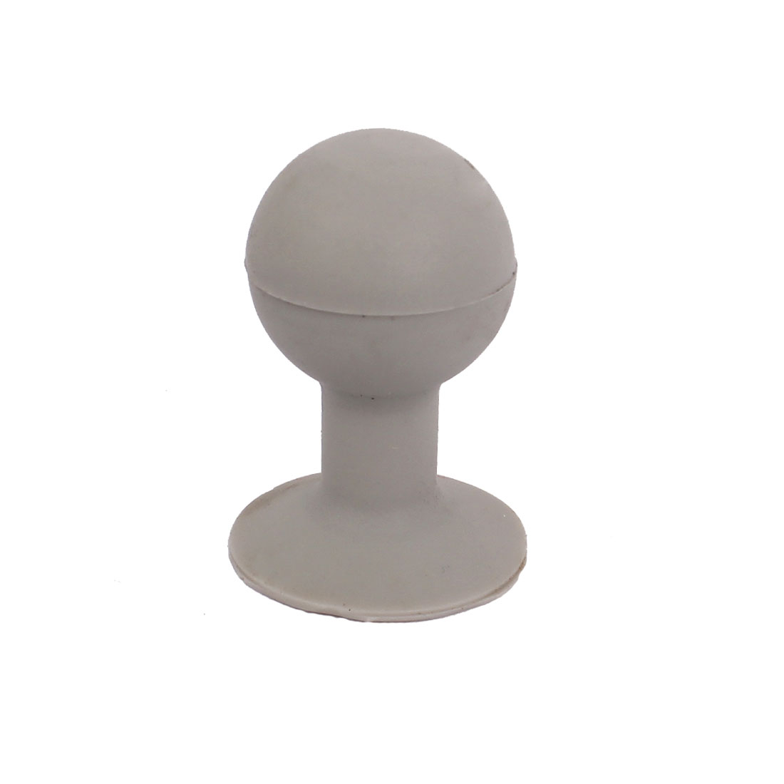 Gray Rubber Ball Shape Suction Sucker Holder Support for Cell Phone