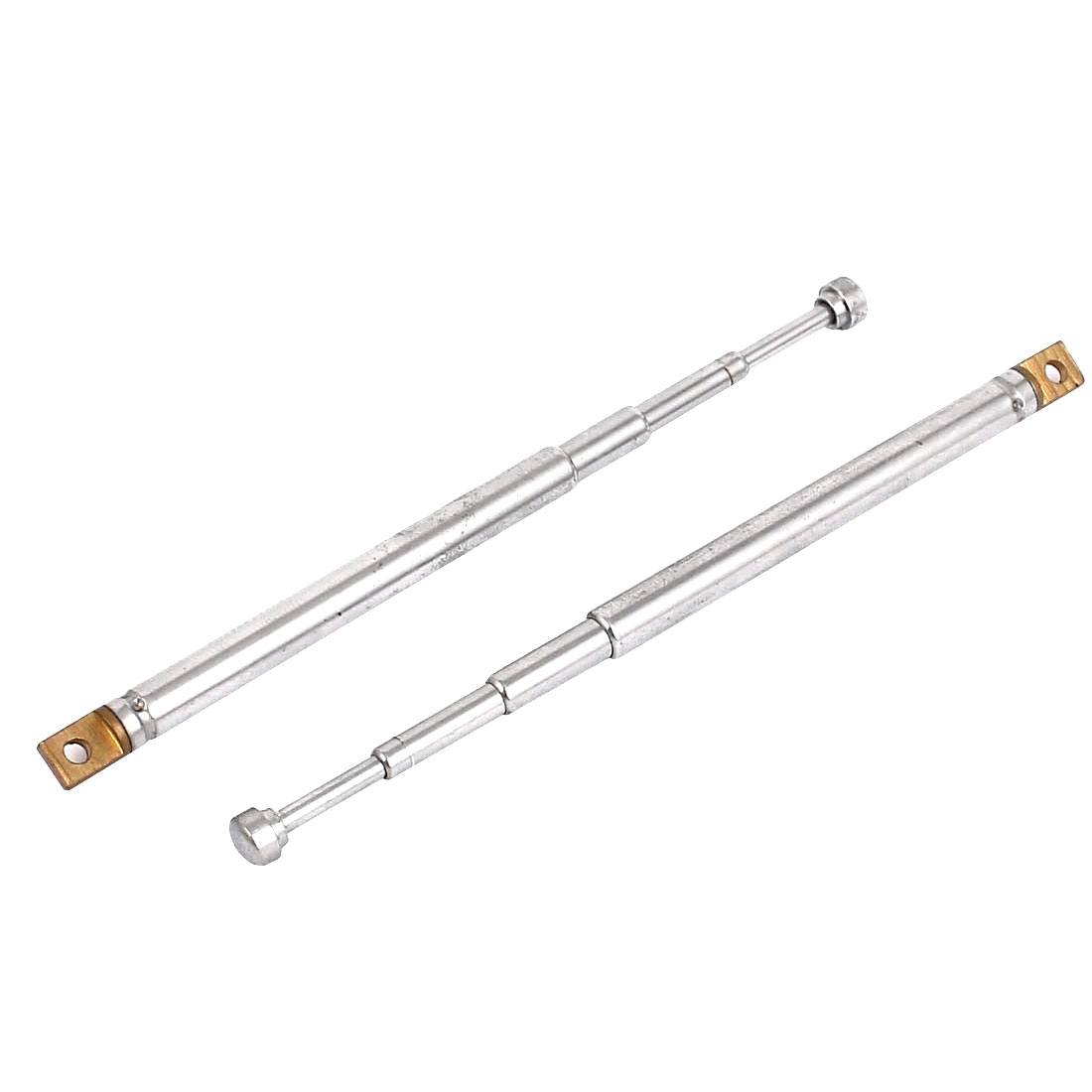 AM FM Radio TV 4 Sections Telescoping Antenna Aerial 145mm Long 2PCS
