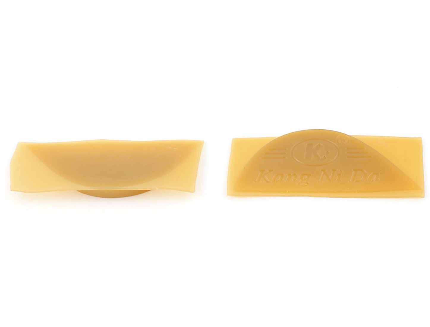 Pair Antislip Rubber Shoes Boots Sole Heel Plate Taps Tips Repair Pads Yellow