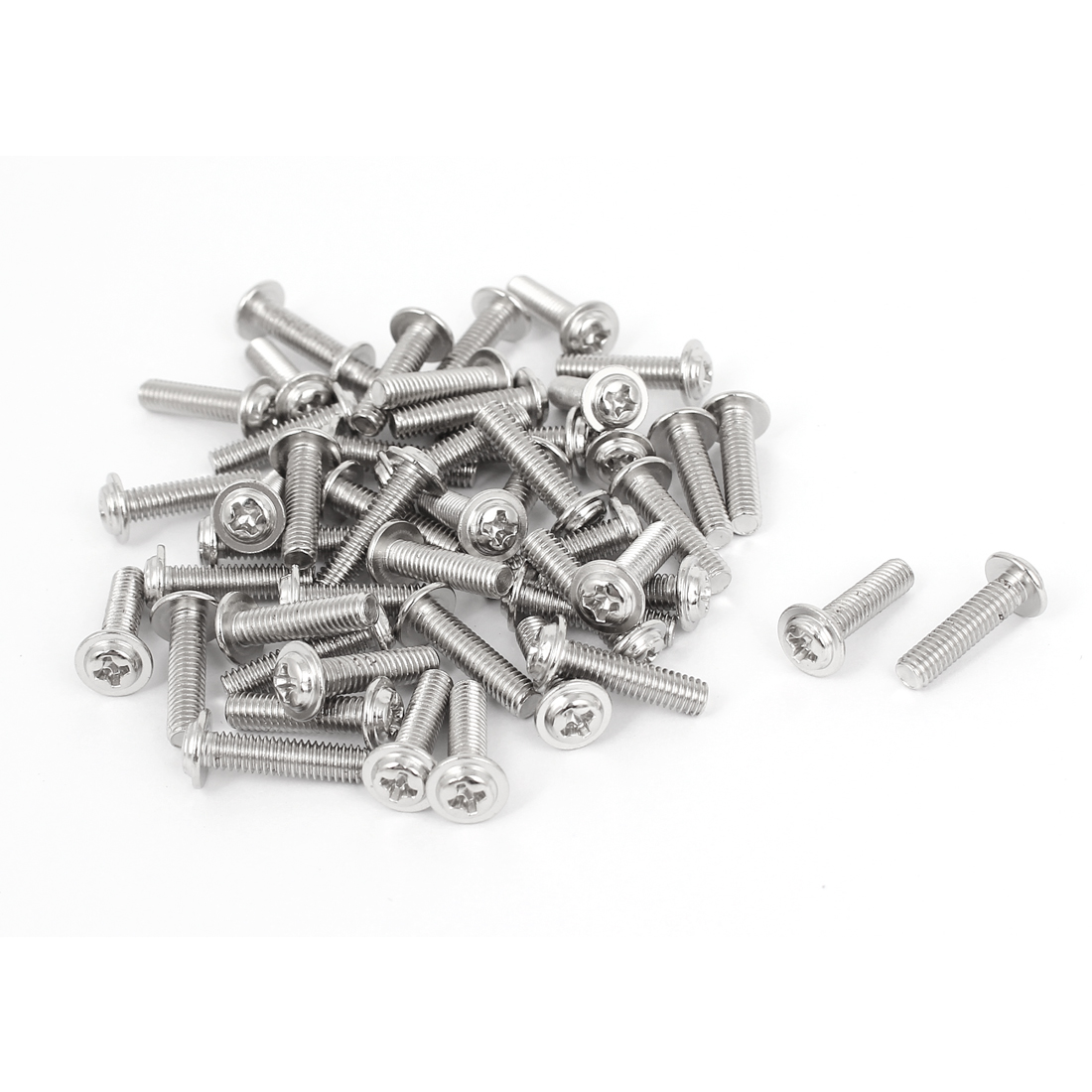 50 Pcs M4x16mm Phillips Countersunk Head Socket Bolts Machine Screws Fasteners