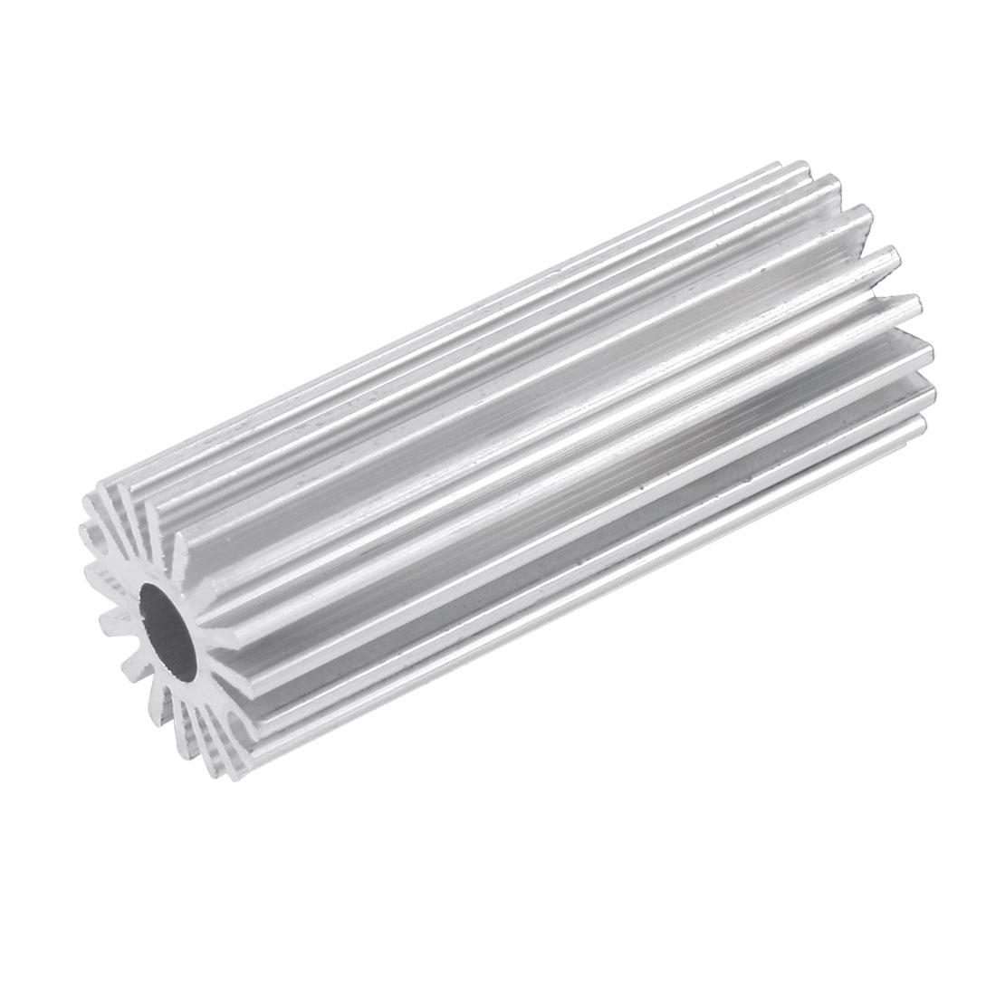 50mm x 20mm Aluminium Heatsink Cooling Fin for 1-2W High Power LED Bulb