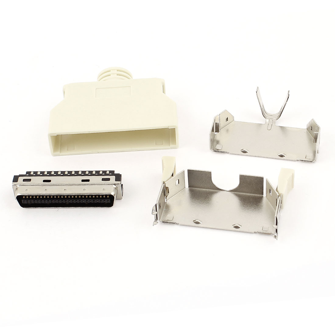 SCSI Connector CN Type 50 Pin Male Plastic Shell PC Computer Adapter