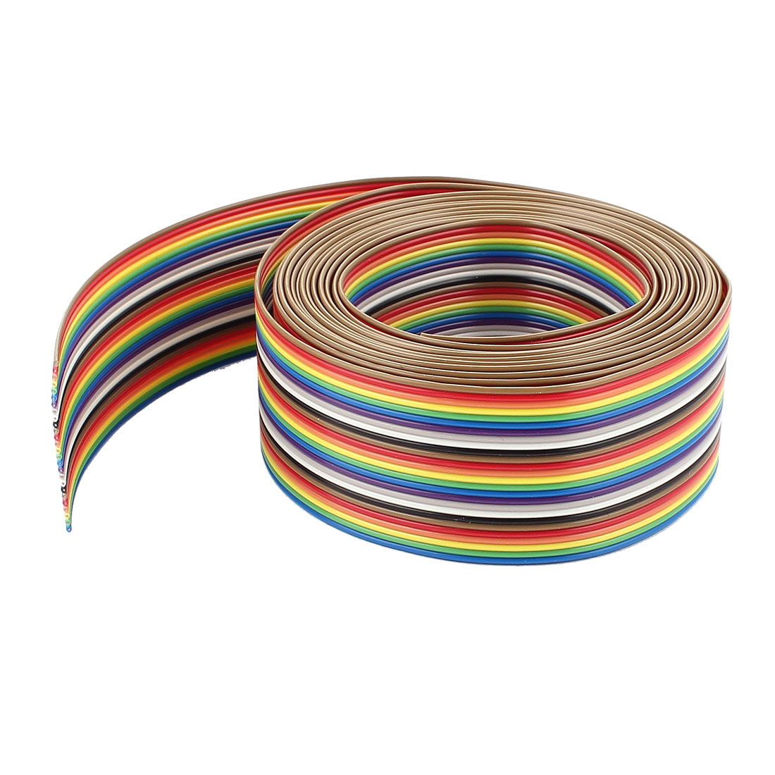 10ft 26 Pin Flexible Flat Ribbon Cable Conductors 1.27mm Pitch