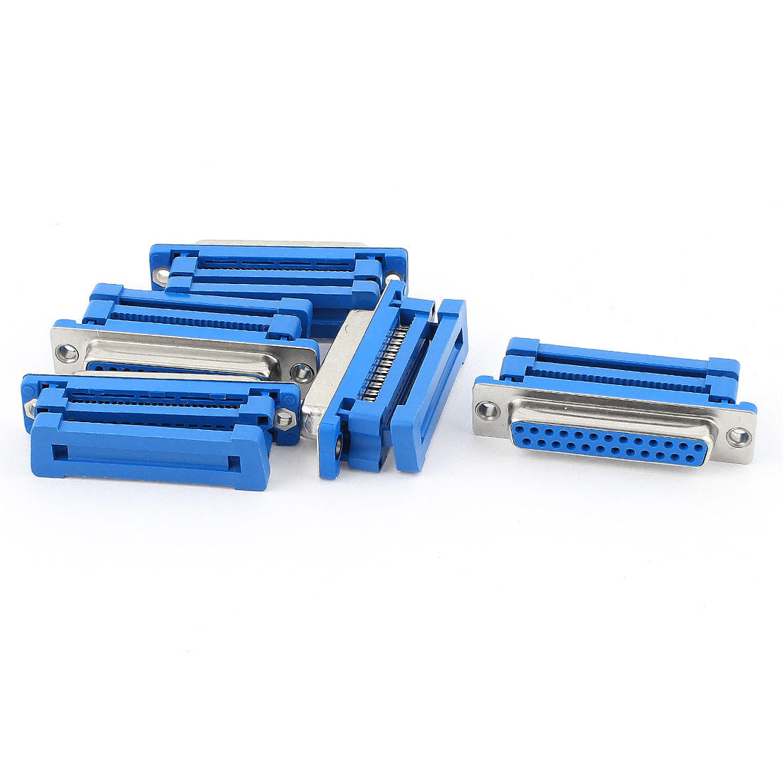 5 Pcs Parallel Port DB25 25-Pin Female IDC Connector Flat Cable Adapter