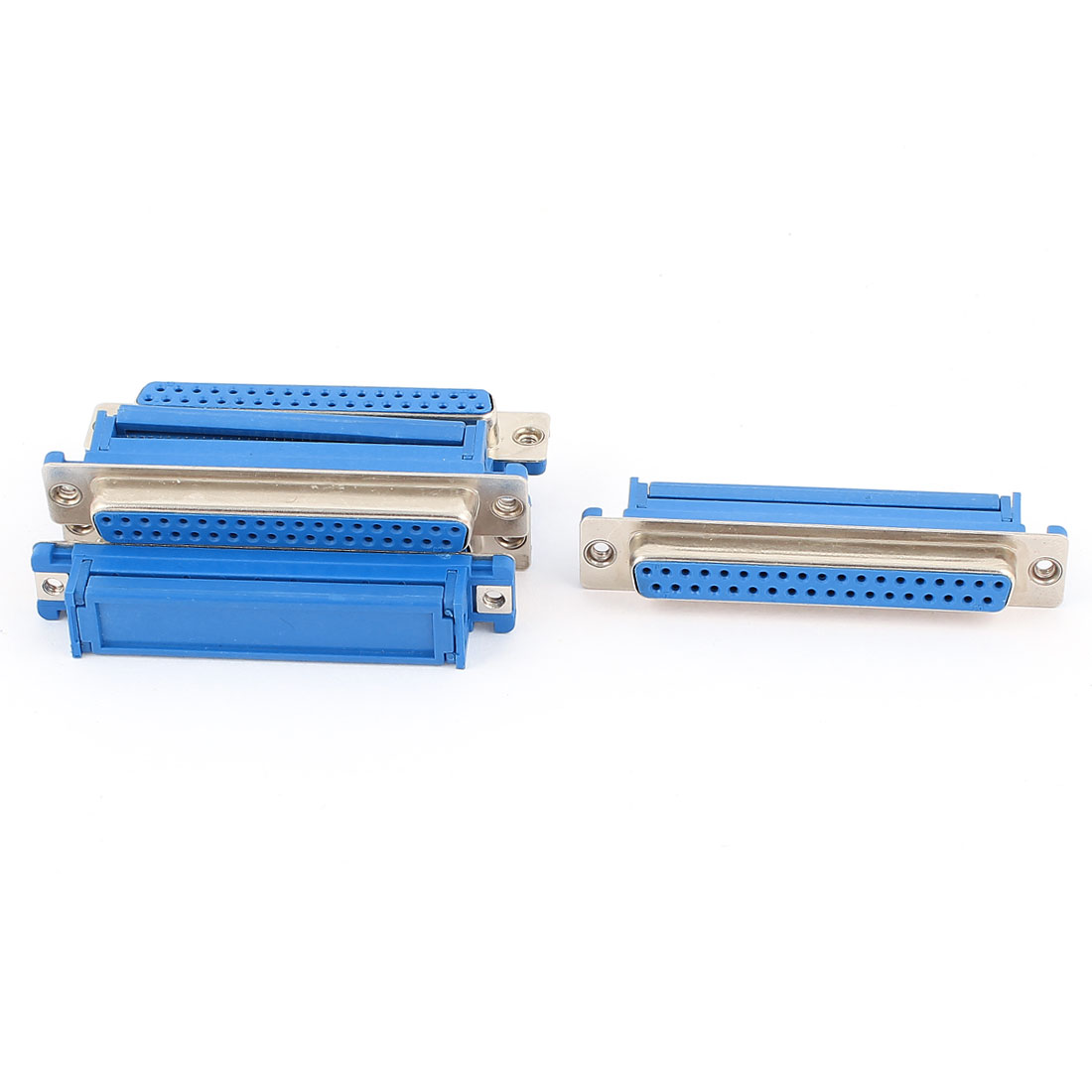 5Pcs Parallel Port 37 Pin D-SUB DB37 Female IDC Connector for Flat Ribbon Cable
