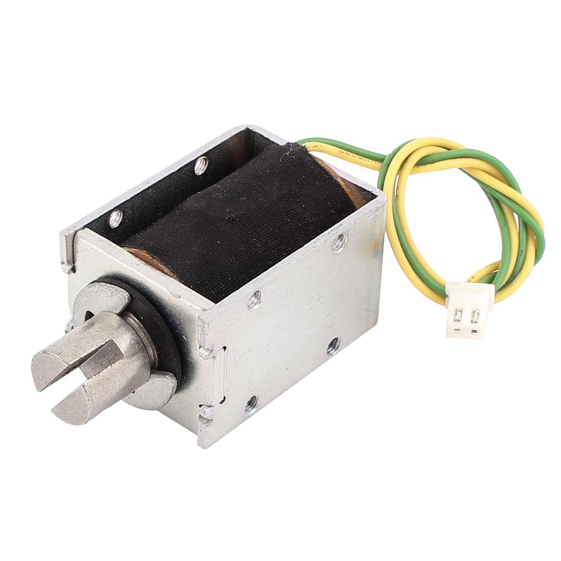DC 6V 11mm 121g Pull Open Frame Solenoid Electromagnet Electric Magnet Holding