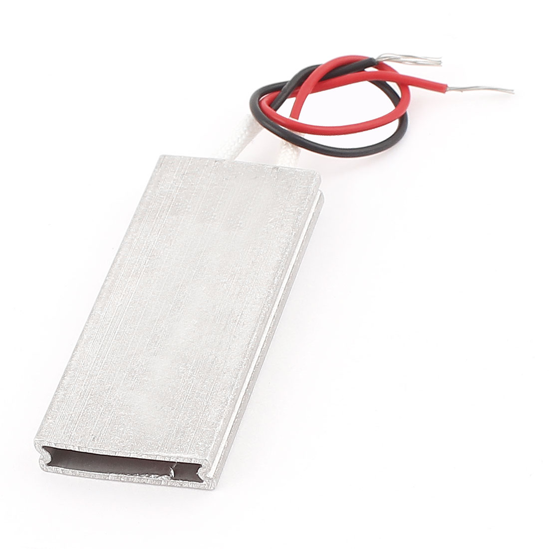 Aluminum PTC Heater Thermostat Heating Plate Constant Temperature 46x20x5mm 12V 140C