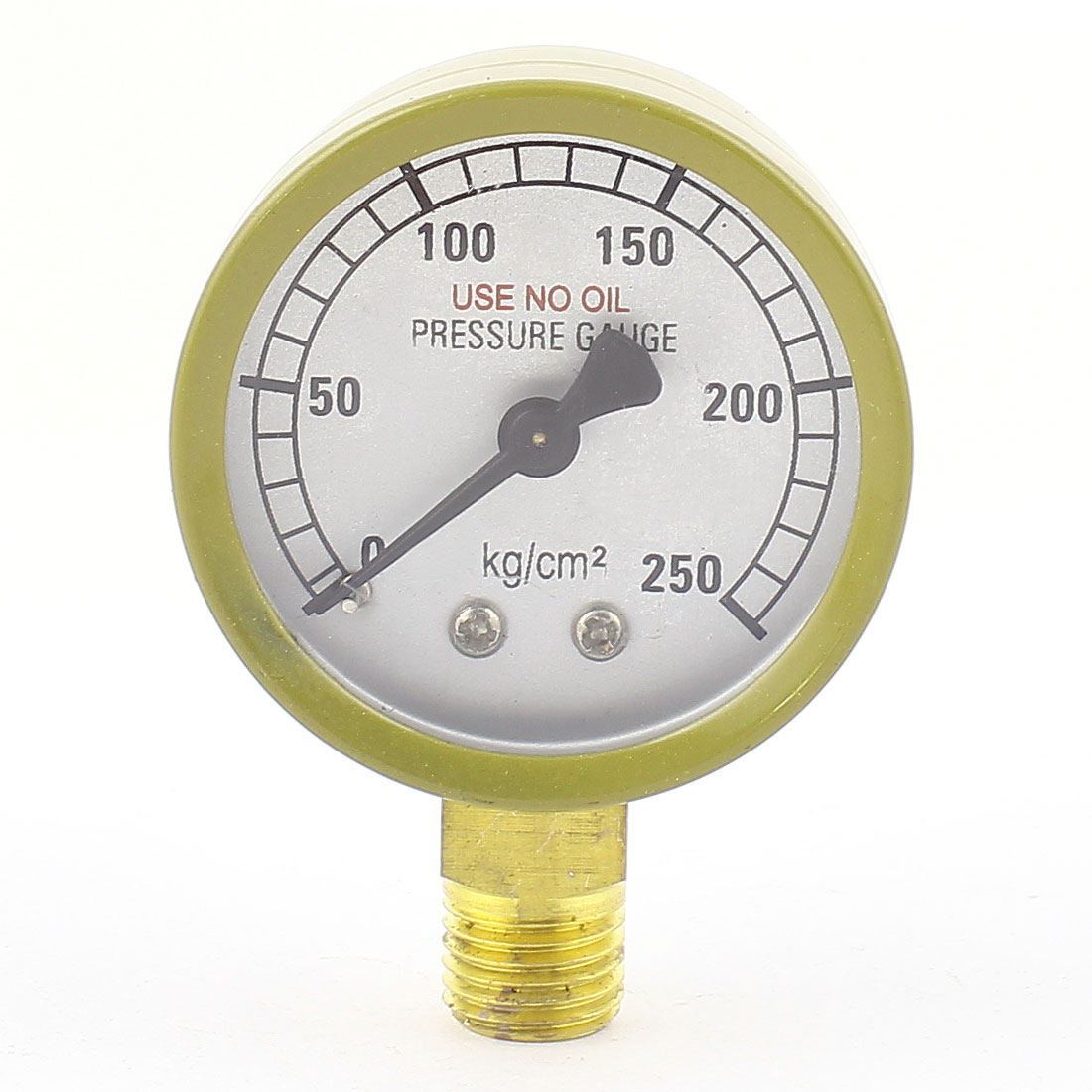 1/4BSP Male Thread 0-245Bar Air Pneumatic Pressure Gauge Manometer Meter
