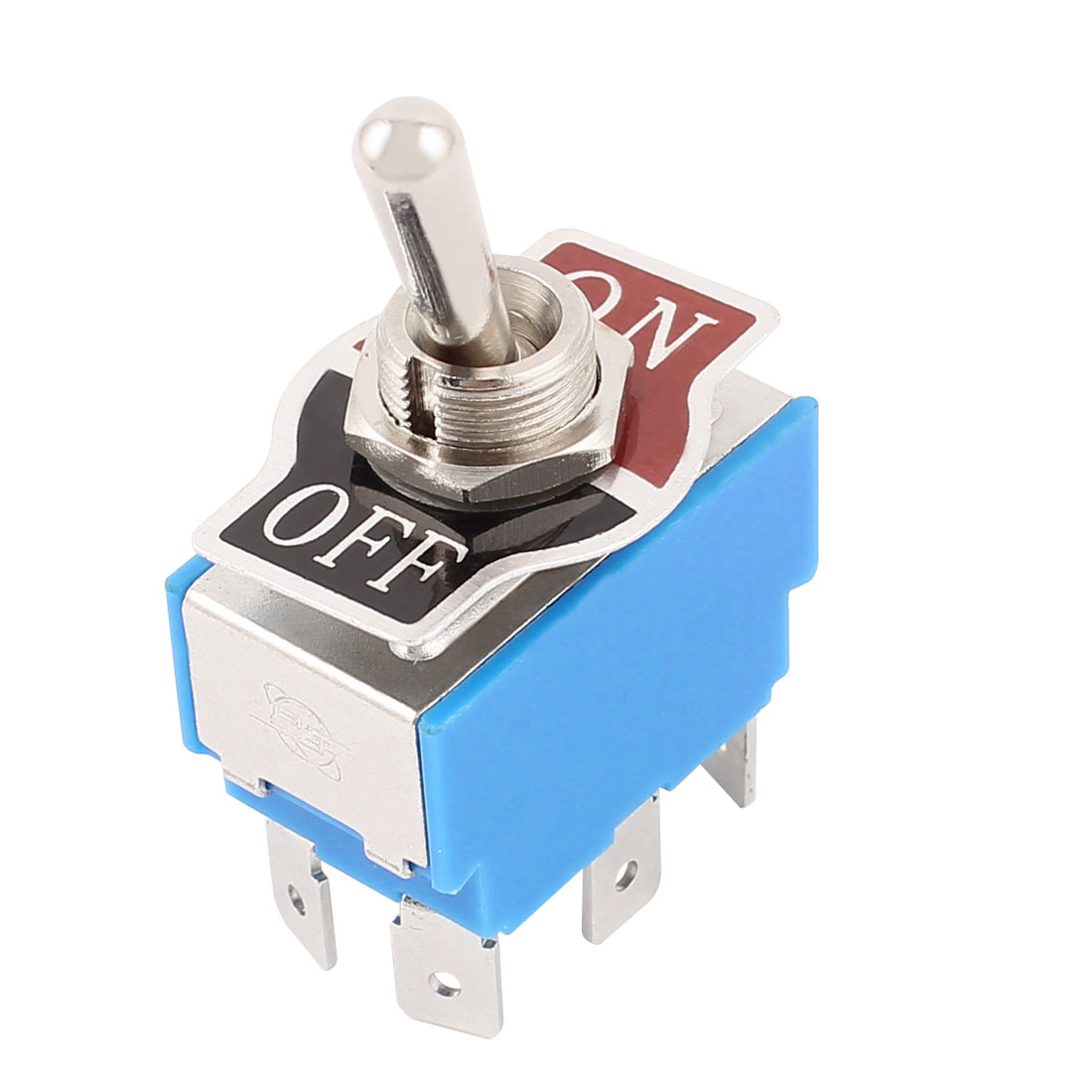 AC 250V 10Amp DPDT On/Off 2 Position Latching Toggle Switch