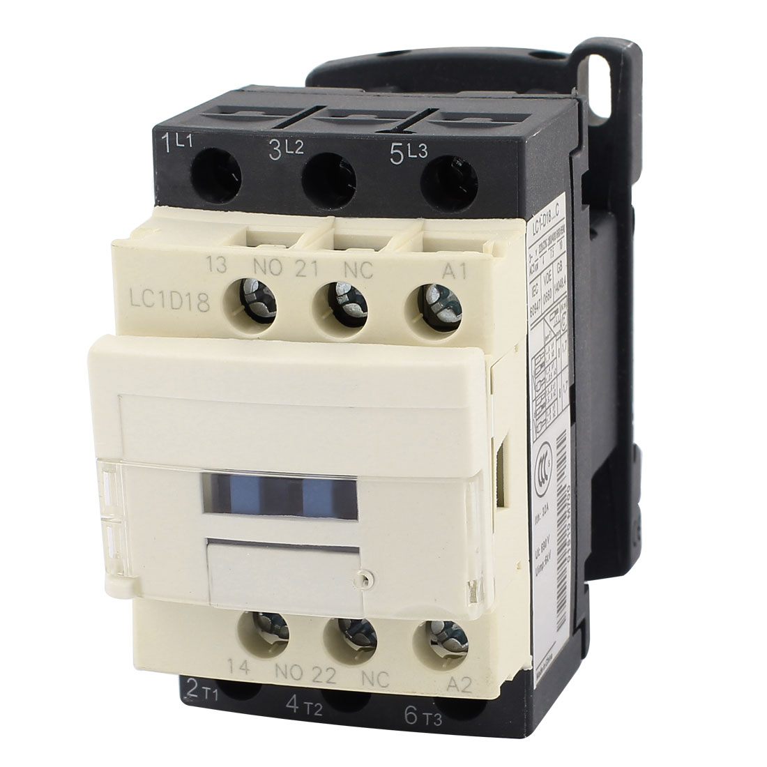LC1D18 Motor Control AC Contactor 32A 3 Phase 380V 50/60Hz Coil
