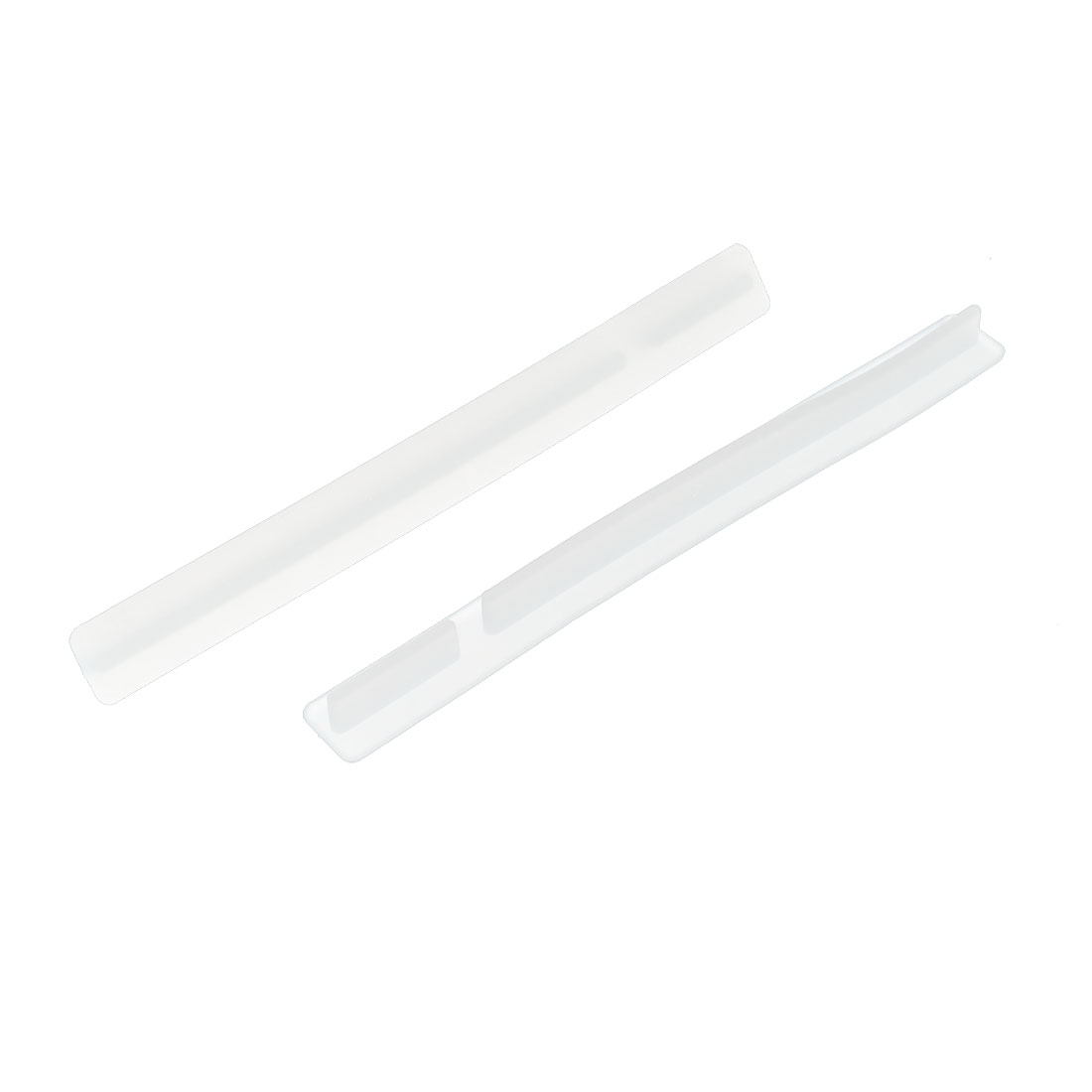 Conventional PCI Slot Silicone Anti Dust Plugs Cover Protector Clear 2PCS