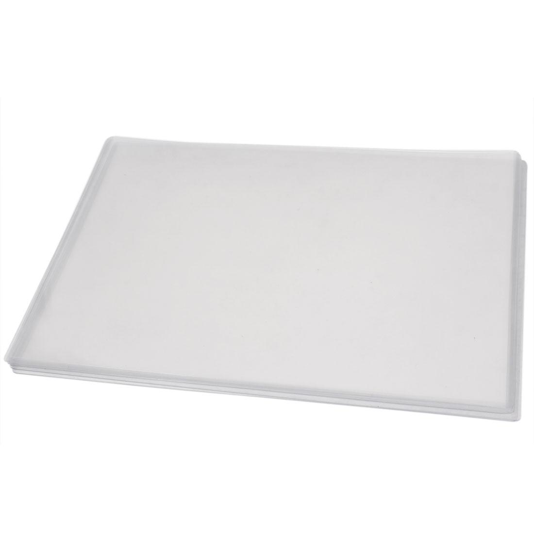 5PCS A3 Paper Clear Plastic Certificate Document Files Holder 420mm x 297mm