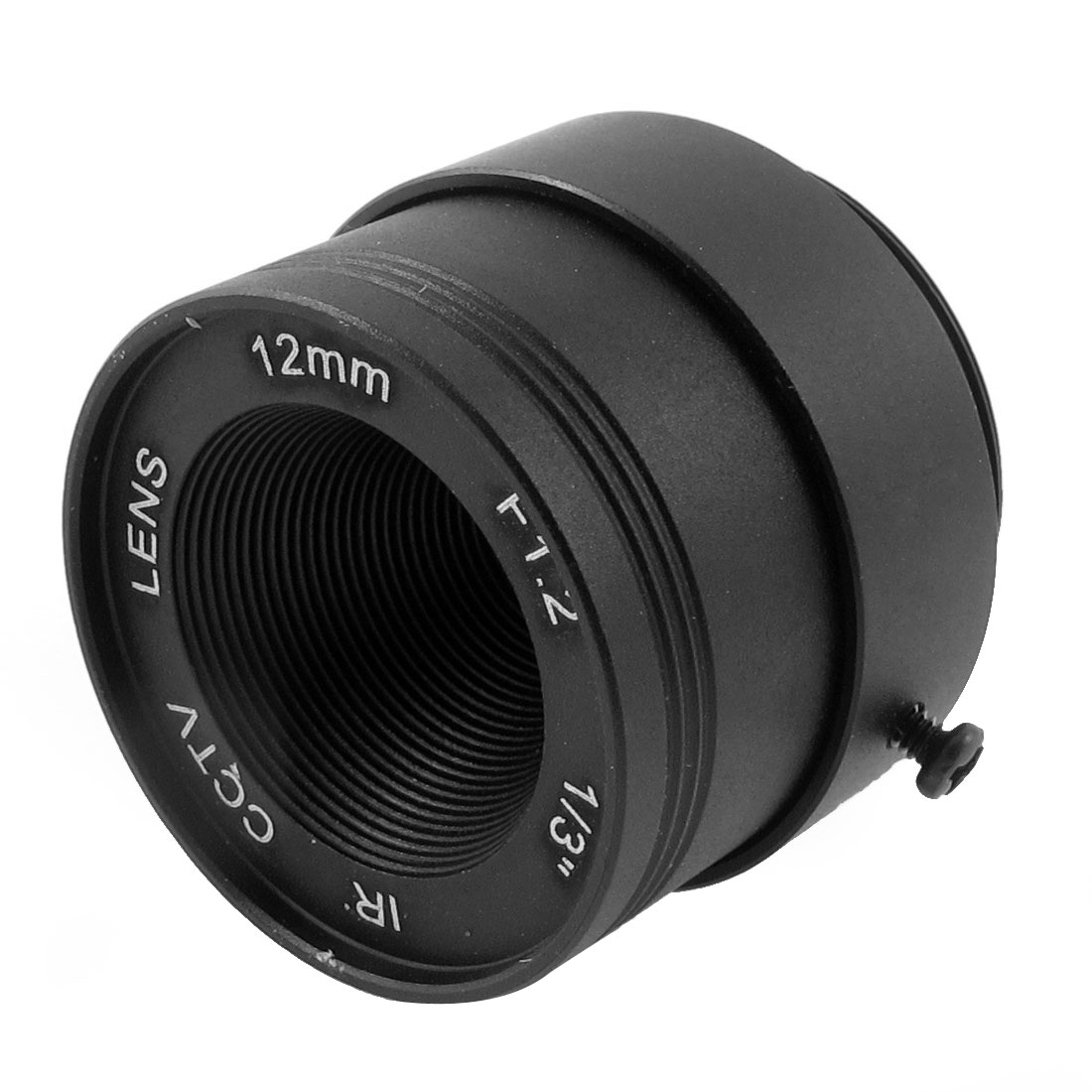 "12mm F1.2 1/3"" CCTV IR Lens CS Mount for Security Dome IP Camera"