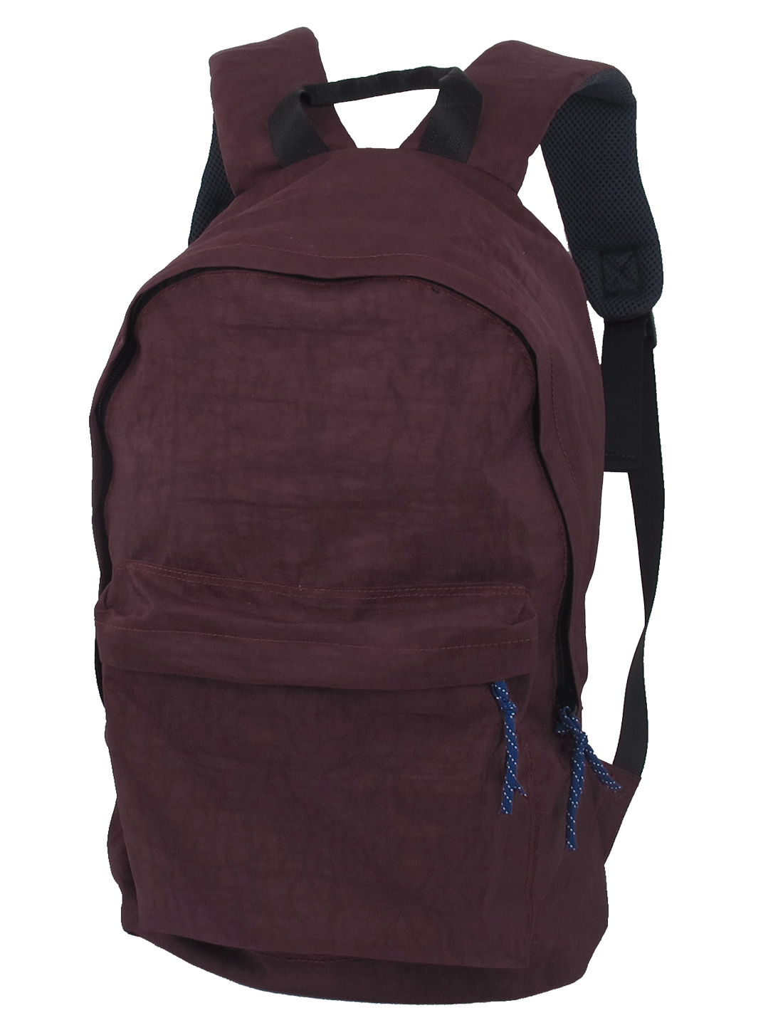 Men Padded Adjustable Shoulder Straps Camera Bag Travel Backpack Burgundy