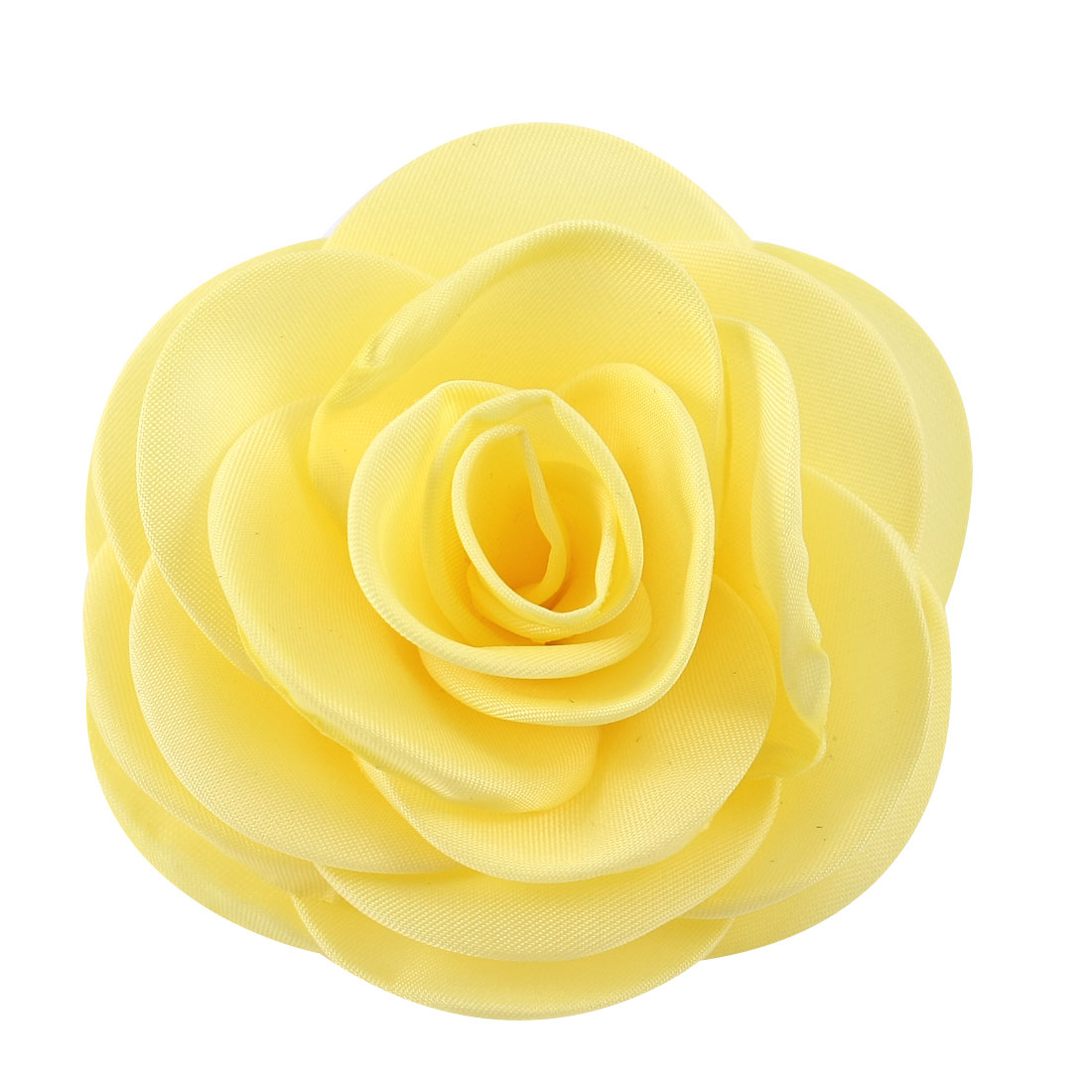 Bouquets Yellow Mini Rose Corsage Hair Clip Brooch Pin Hairclips