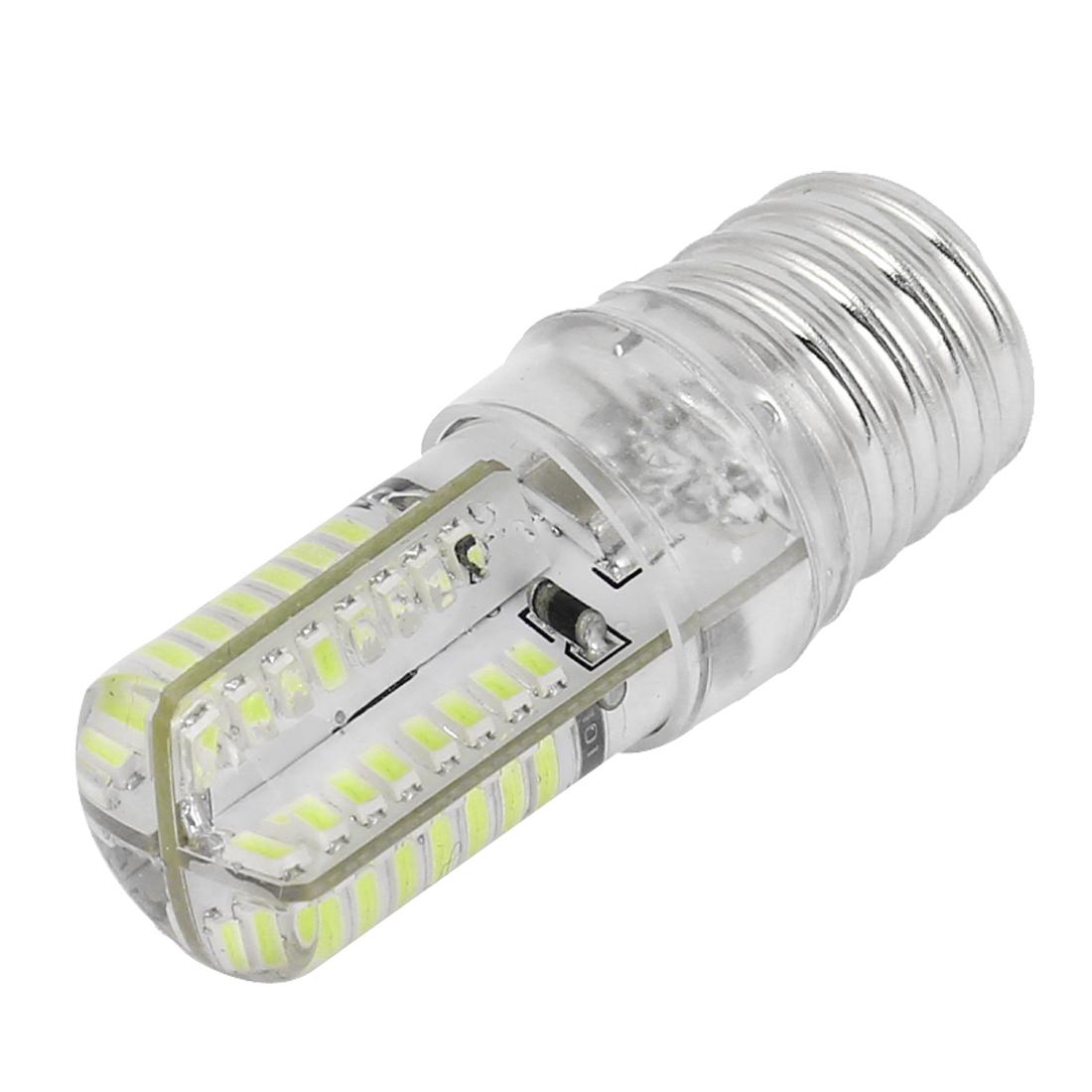E17 Socket 5W 64 LED Table Lamp Bulb 3014 SMD Light Pure White AC 200V-240V