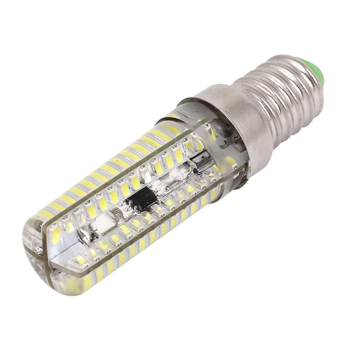 Dimmable E14 8W 120 LED Lamp 3014 SMD Light Pure White AC 220V-240V