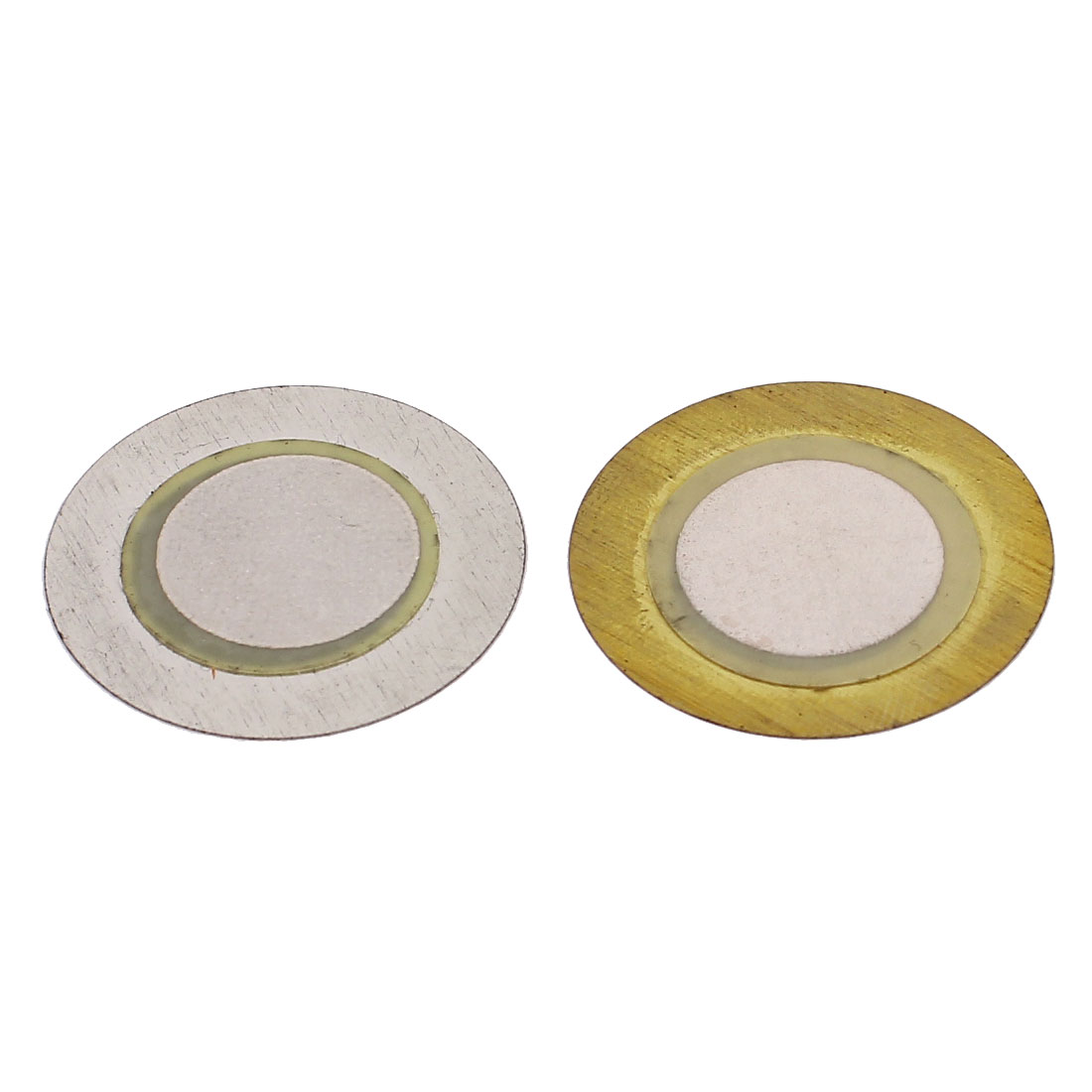 2 Pcs 27mm Dia Piezo Buzzer Disc Transducer for Pressure Sensor DIY Speaker