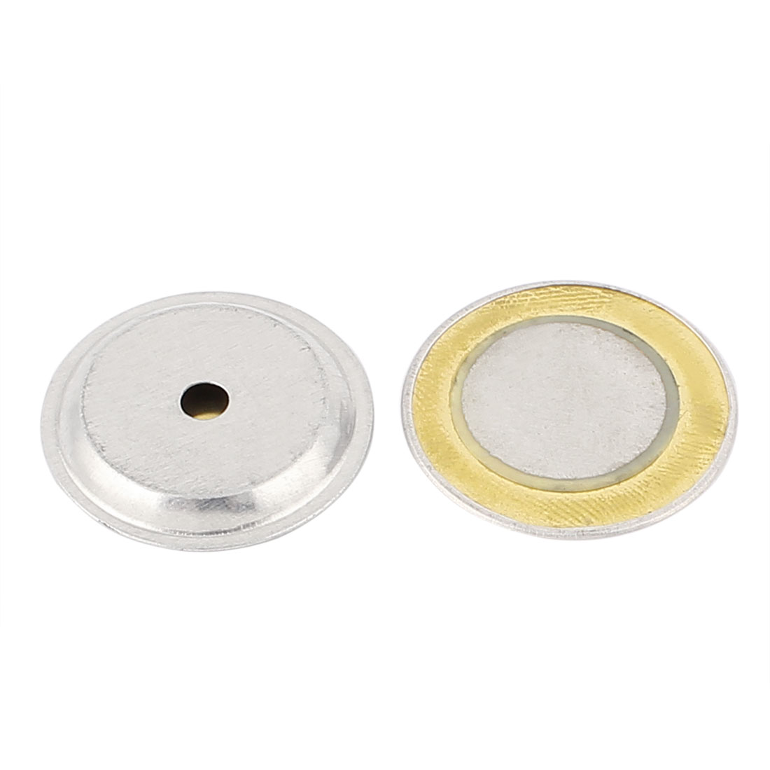 2pcs 27mm Piezo Elements Sounder Sensor Trigger Drum Disc DC 24V