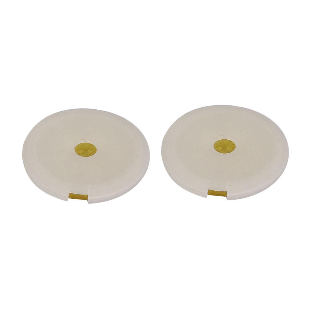 2PCS 27mm Piezo Disc w Plastic Shell for Buzzer Sensor Trigger DIY Speaker
